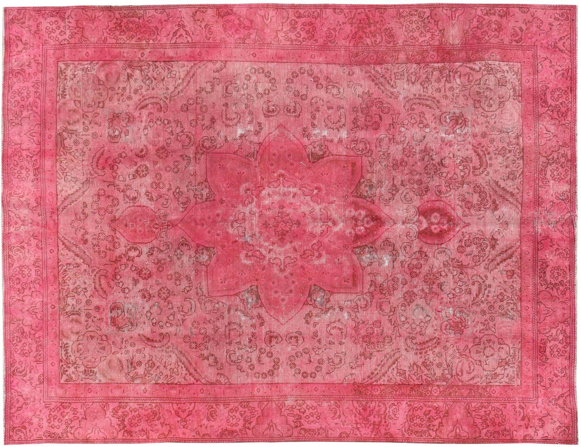 Perzisch Vintage Tapijt  roze <br/>377 x 266 cm