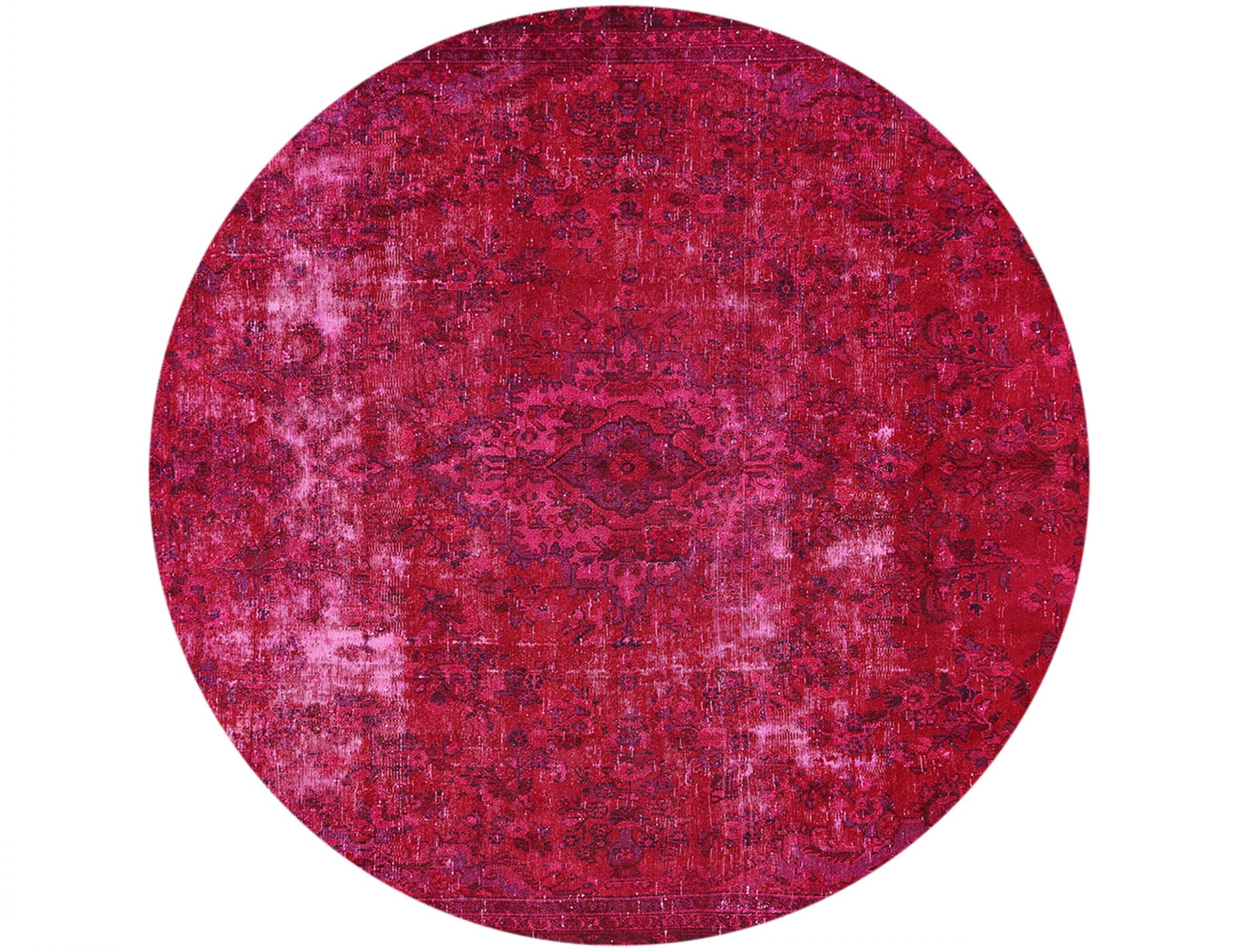 Tappeto Vintage  rosso <br/>273 x 273 cm