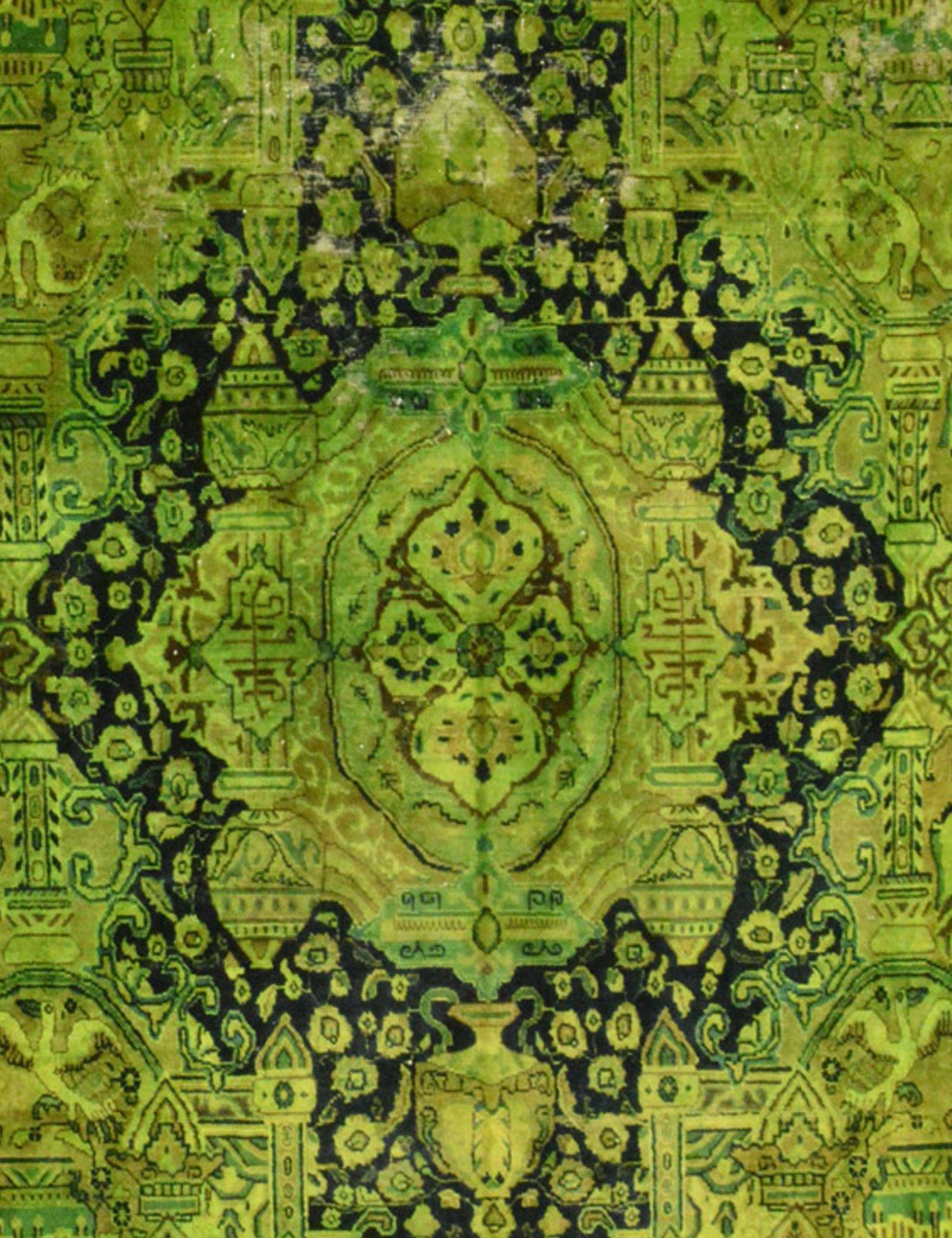 Tappeto Vintage  verde <br/>276 x 276 cm