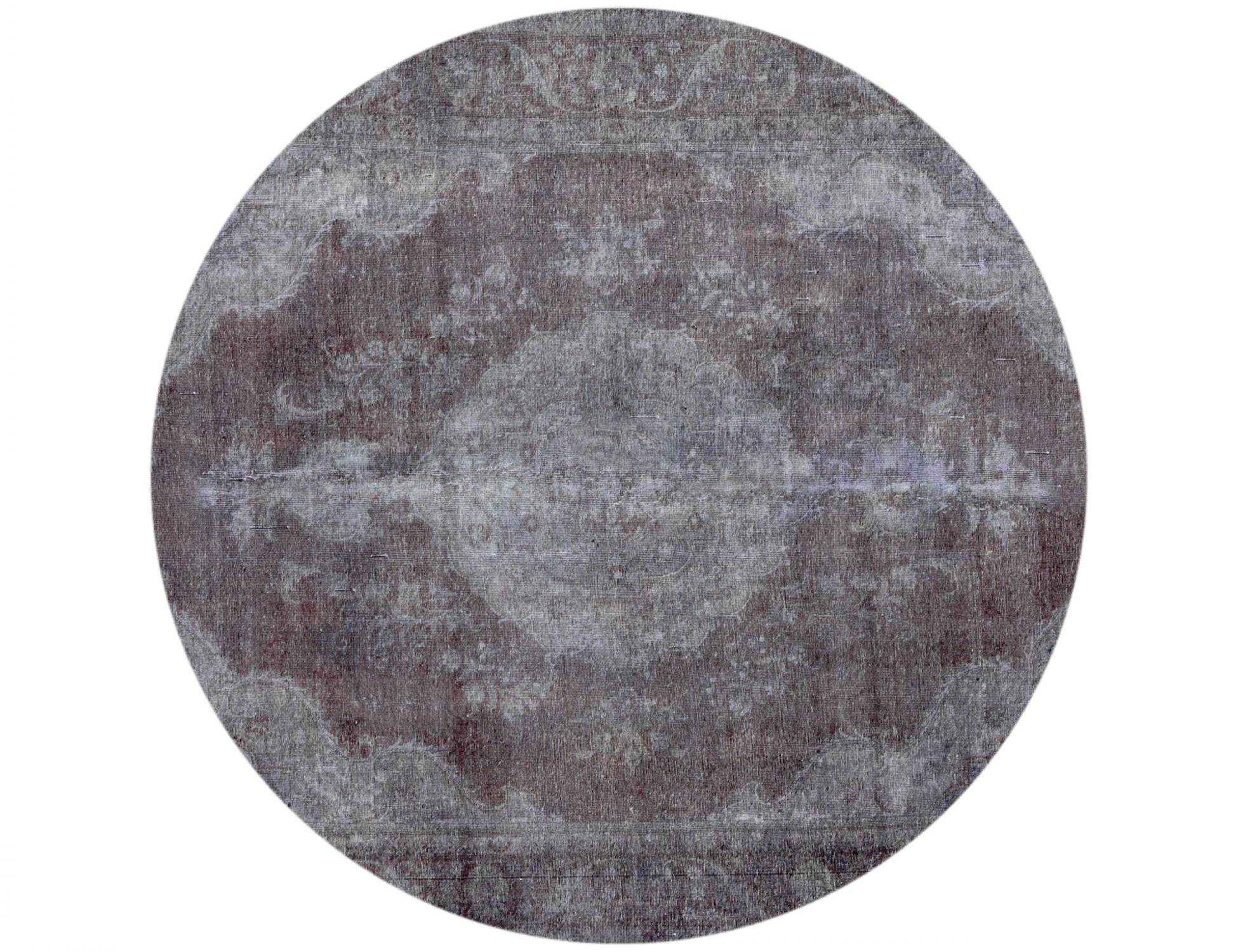 Tappeto Vintage  grigo <br/>250 x 250 cm