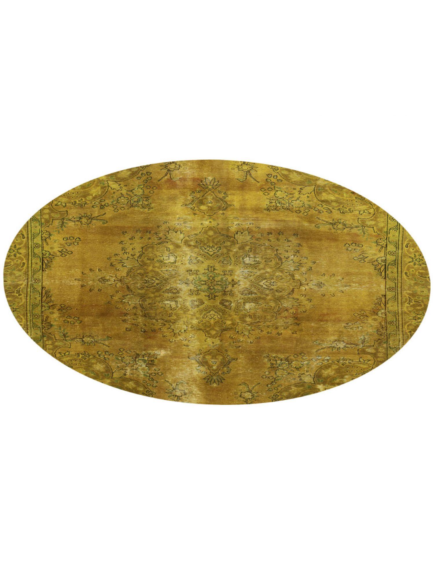 Tappeto Vintage  giallo <br/>252 x 252 cm