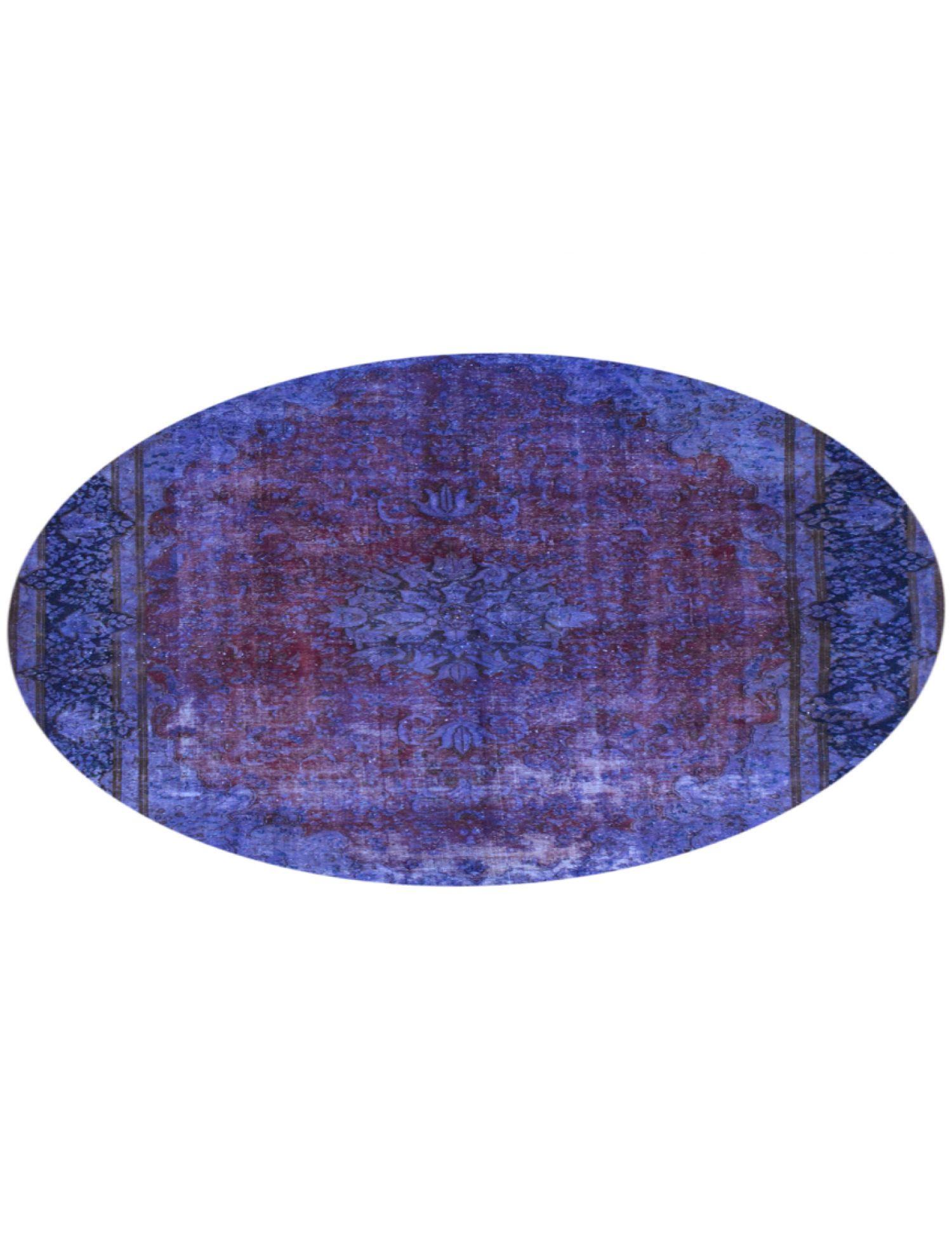Tappeto Vintage  blu <br/>292 x 292 cm