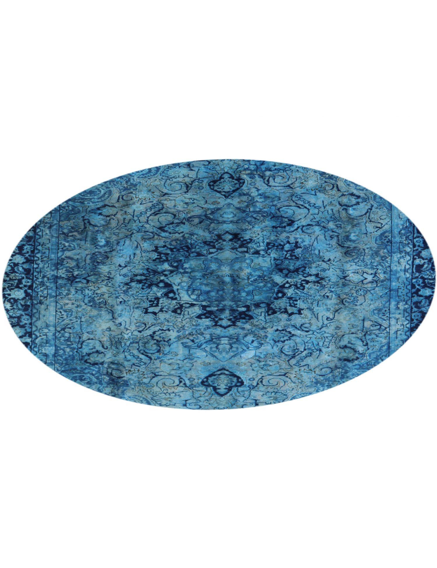 Tappeto Vintage  blu <br/>263 x 263 cm