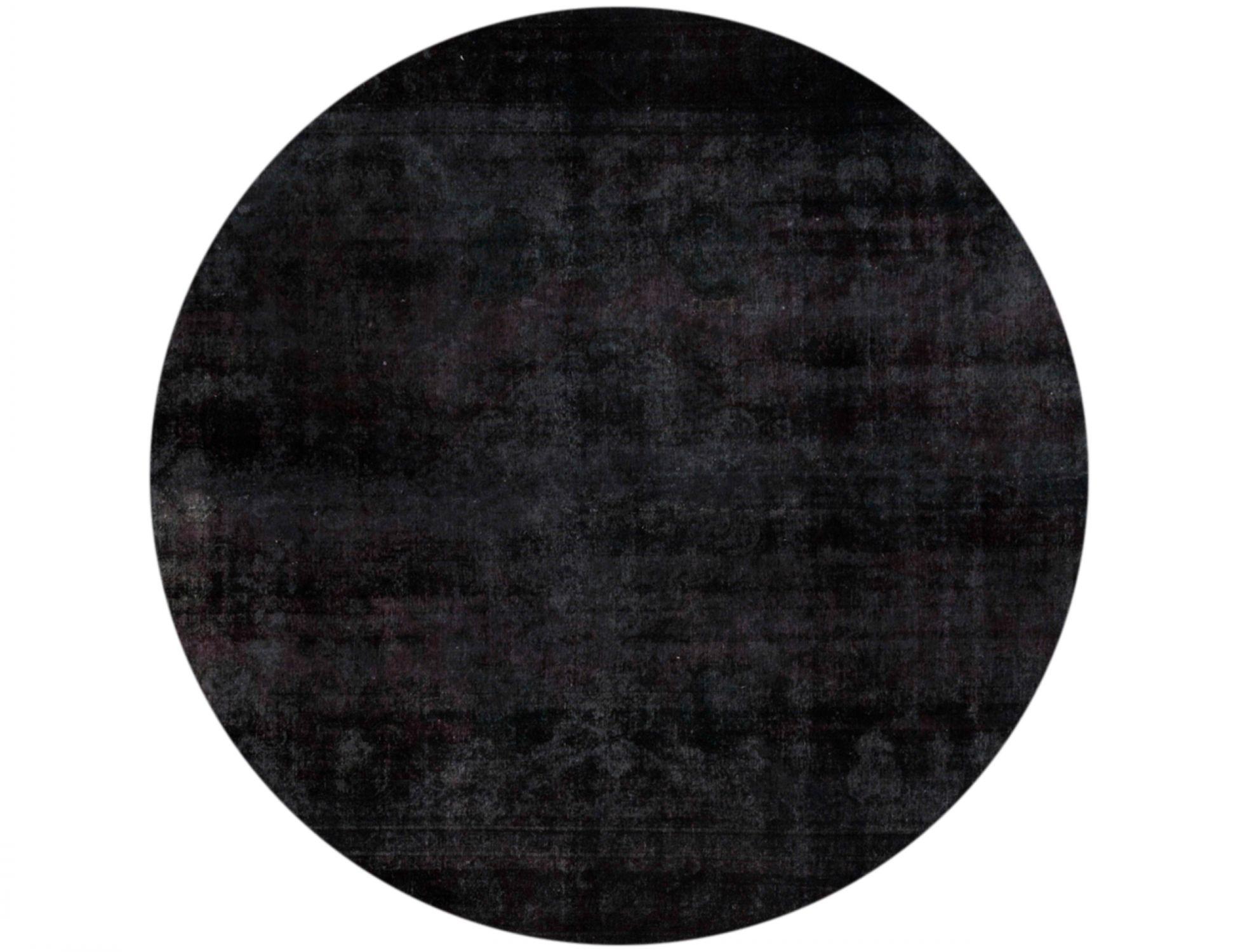 Tappeto Vintage  nero <br/>280 x 280 cm