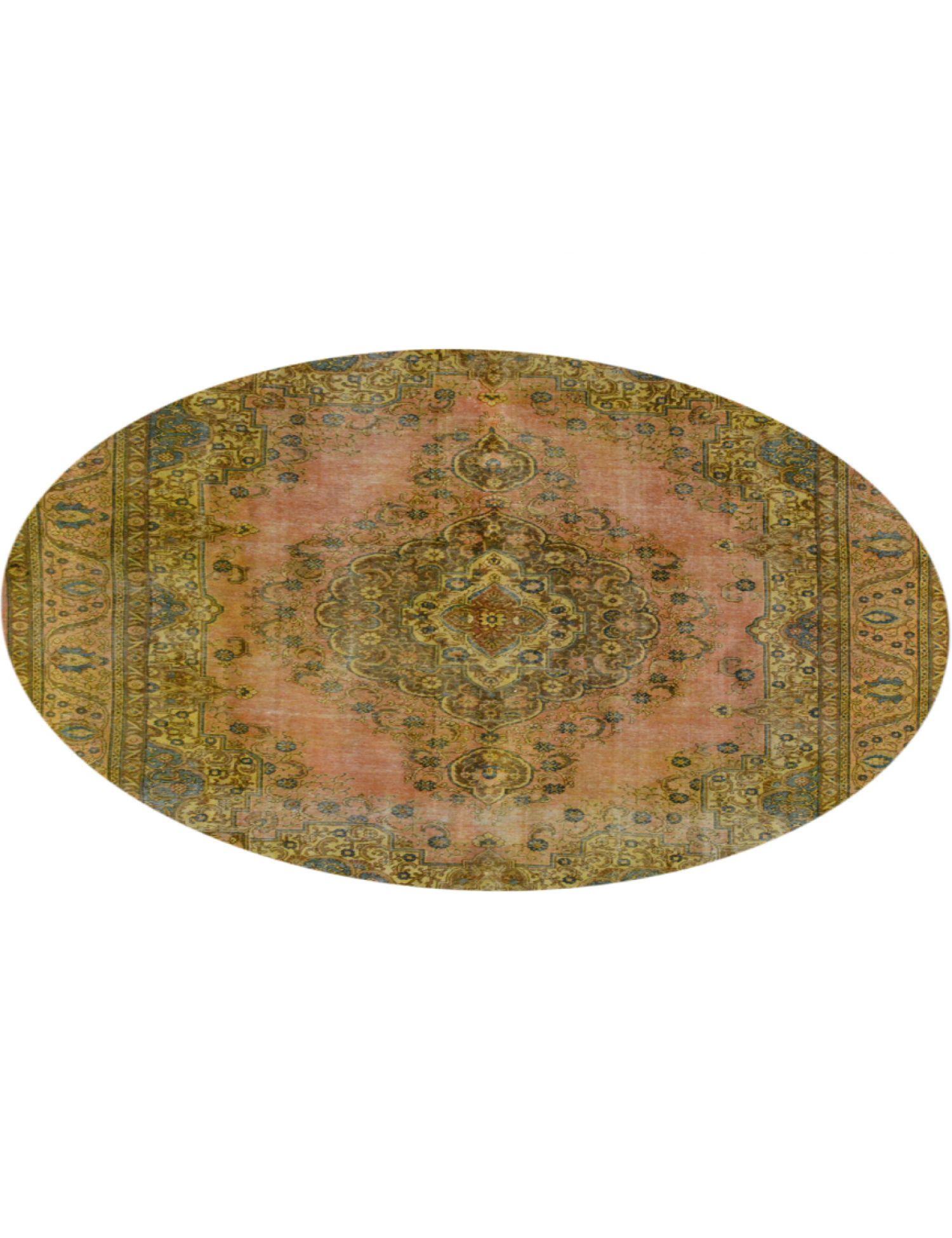 Tappeto Vintage  giallo <br/>294 x 294 cm