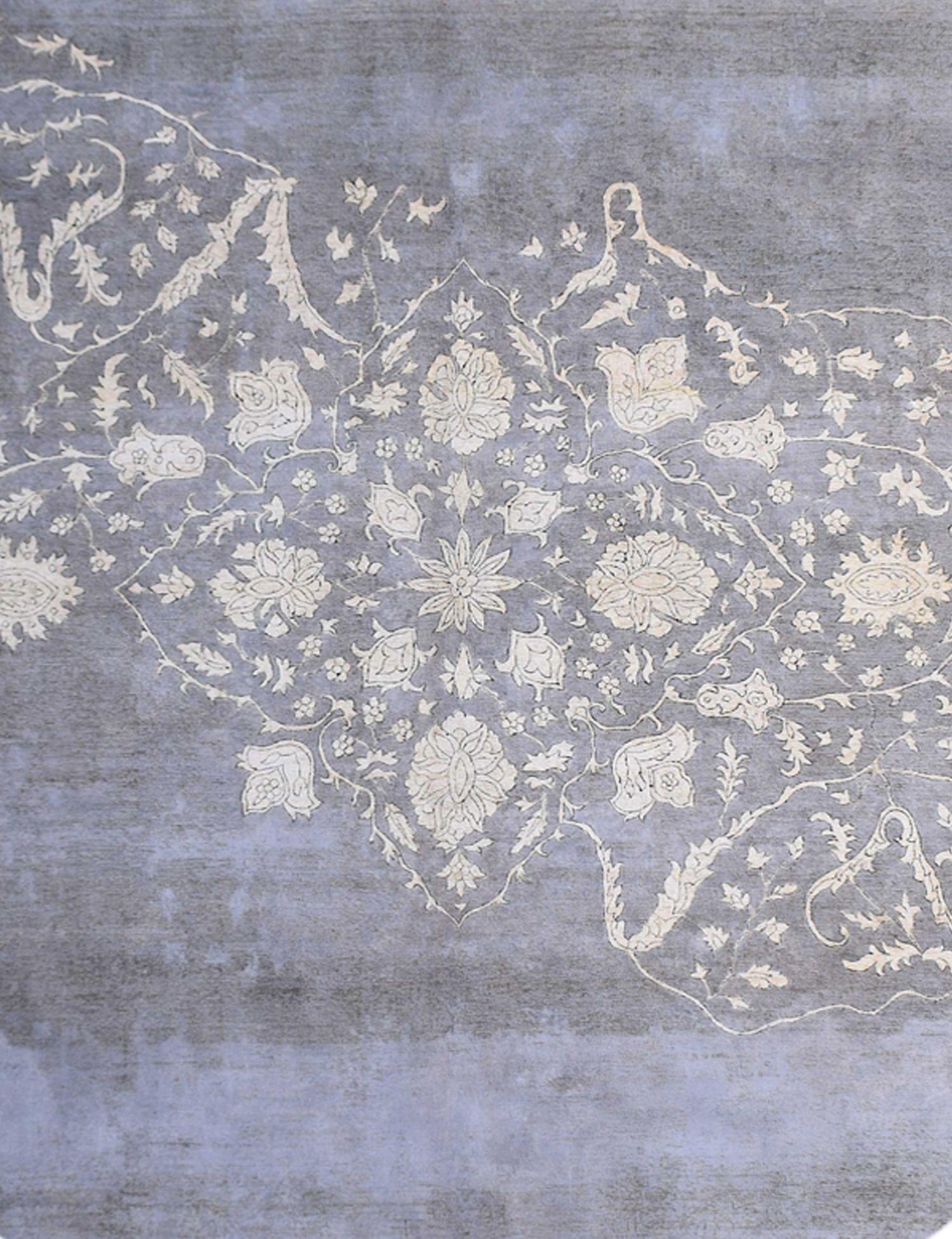 Vintage Teppich rund  grau <br/>288 x 288 cm