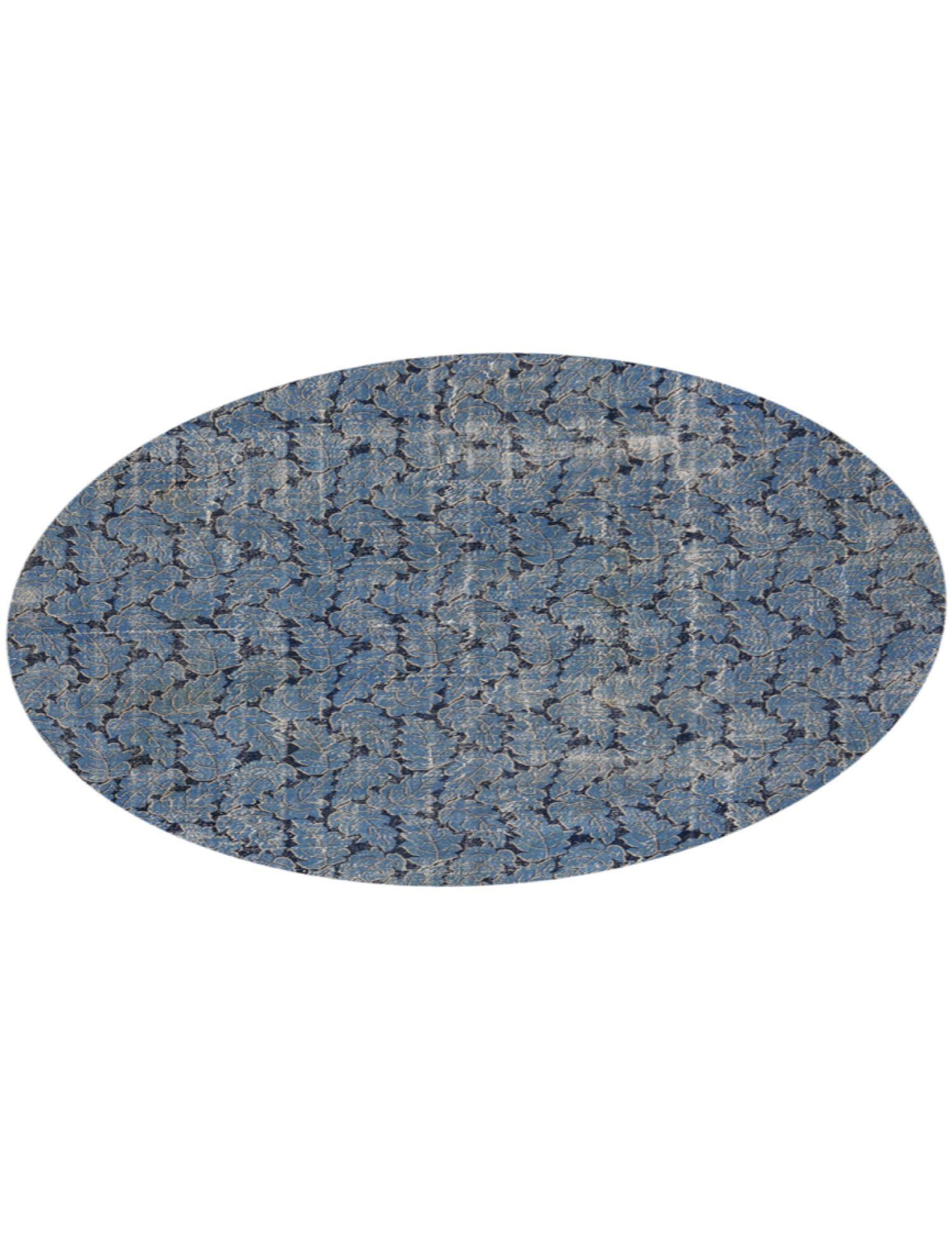 Tappeto Vintage  blu <br/>308 x 308 cm