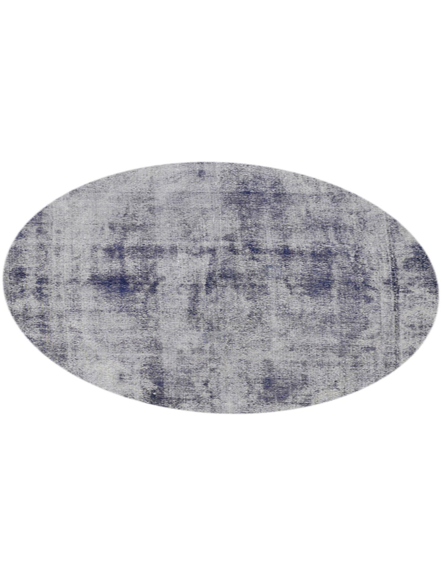 Vintage Teppich rund  blau <br/>301 x 301 cm