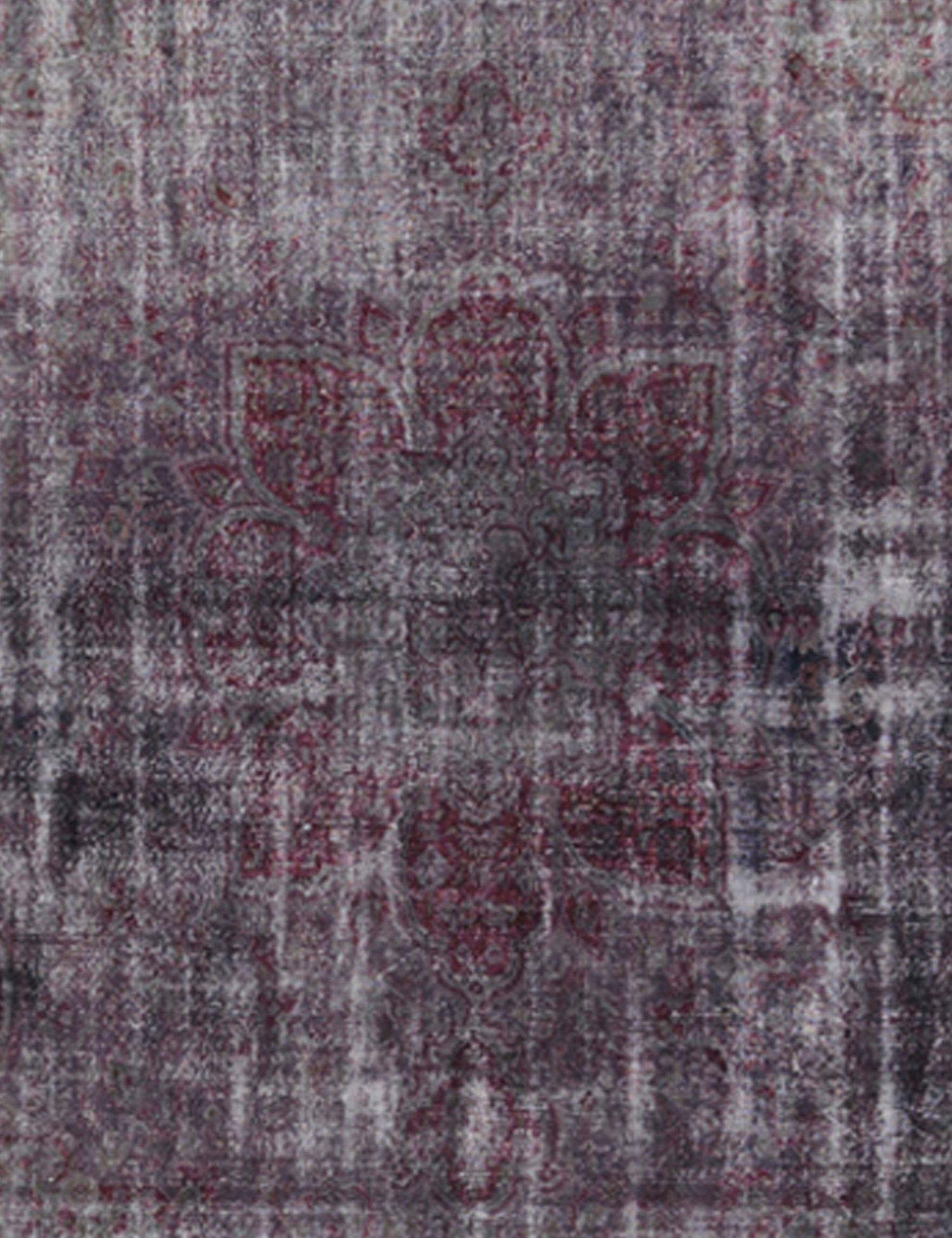 Vintage Teppich rund  lila <br/>302 x 302 cm