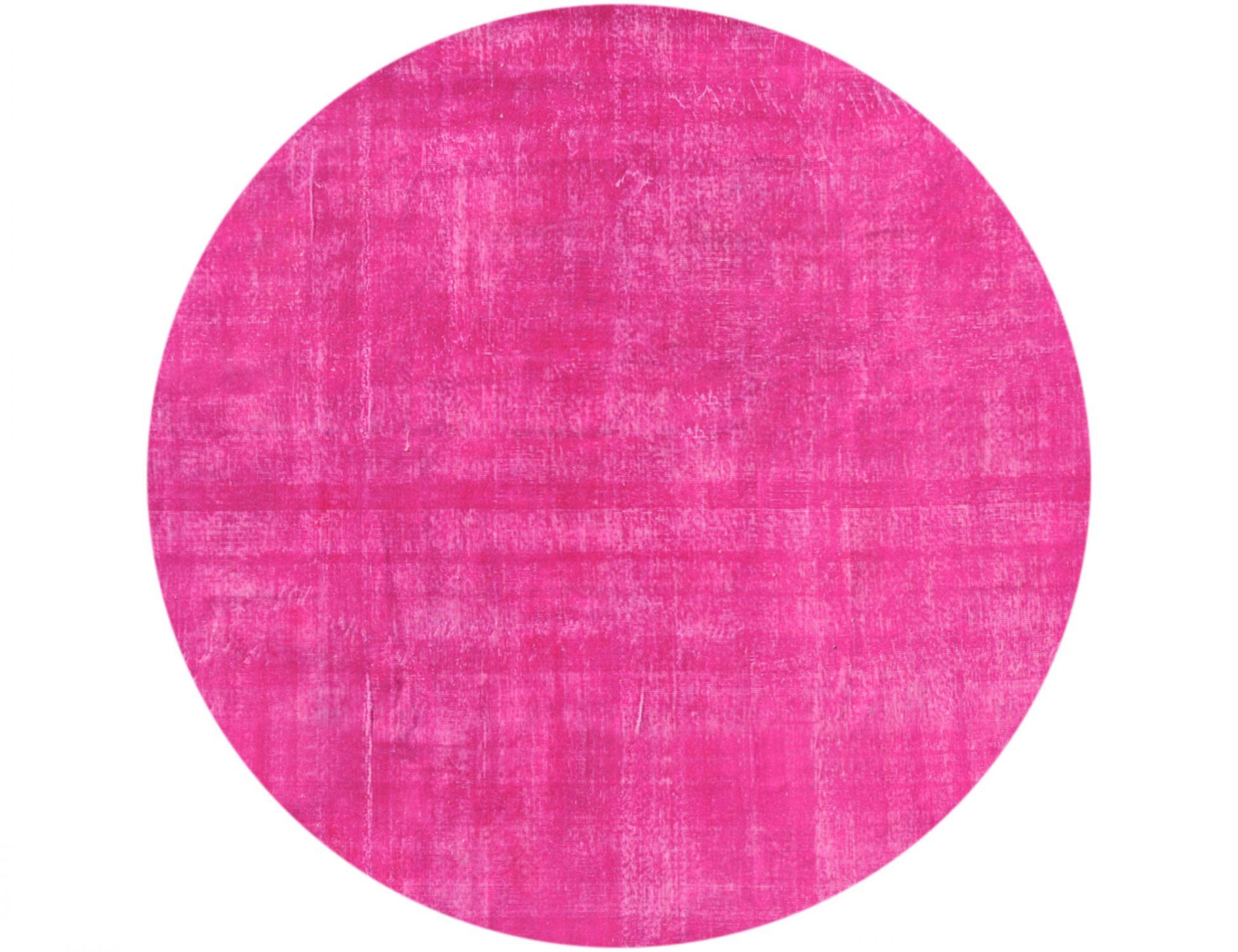 Vintage Teppich rund  lila <br/>232 x 232 cm