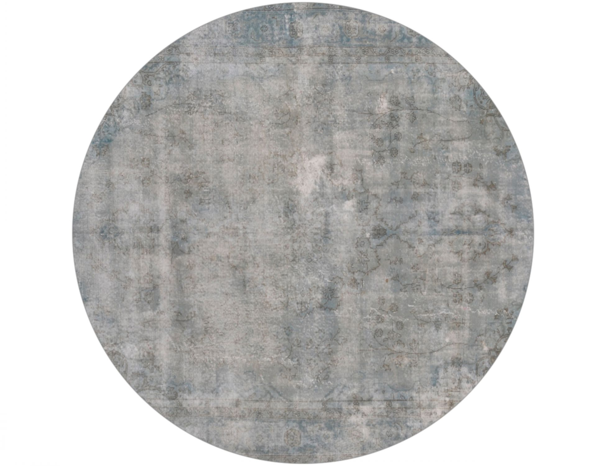 Tappeto Vintage  grigio <br/>233 x 233 cm