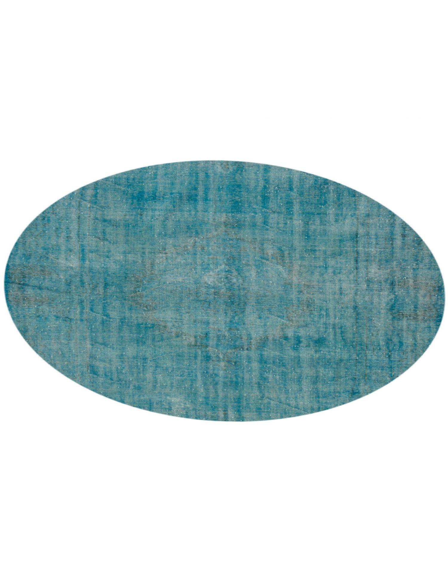 Tappeto Vintage  blu <br/>242 x 242 cm