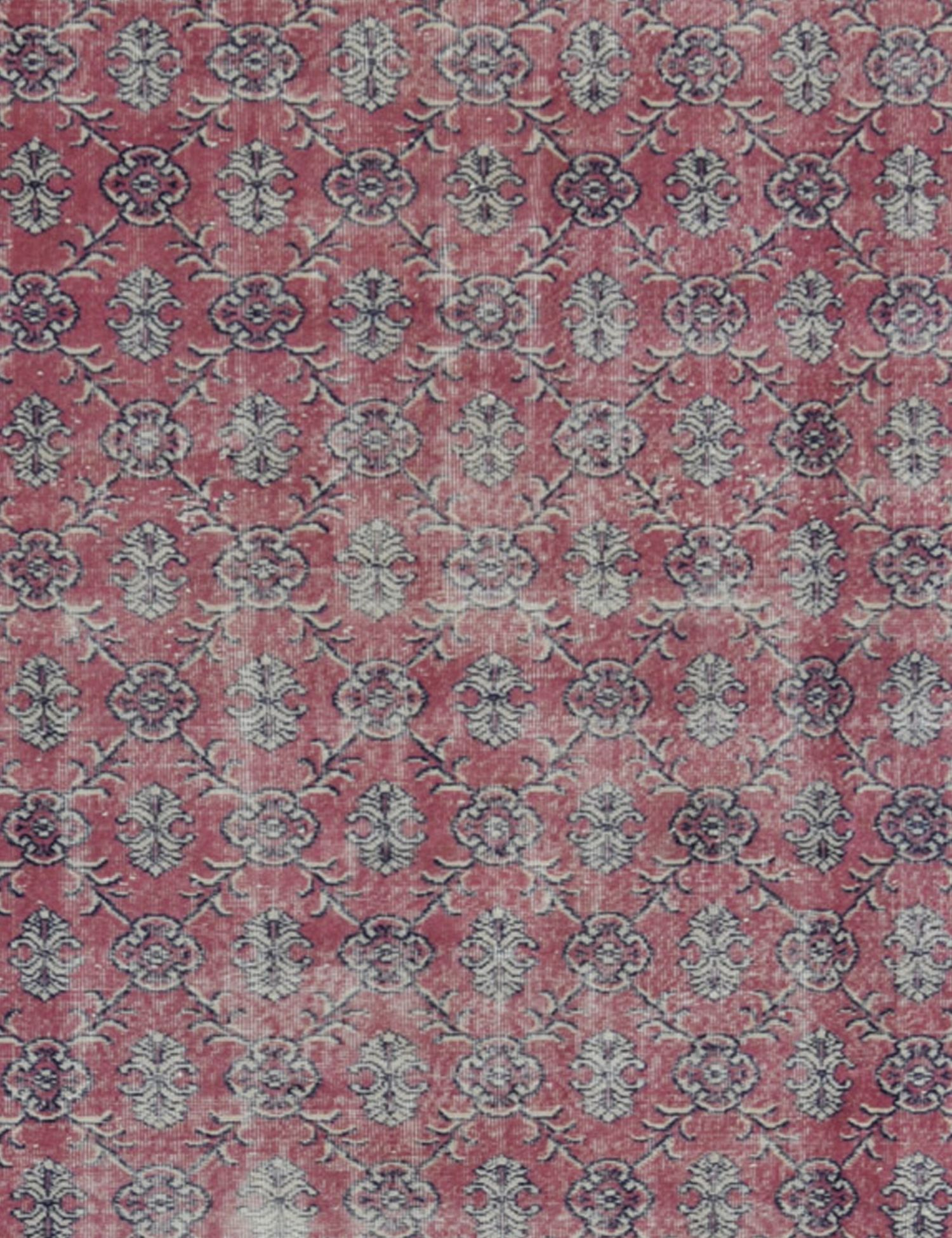 Vintage Teppich rund  lila <br/>223 x 223 cm