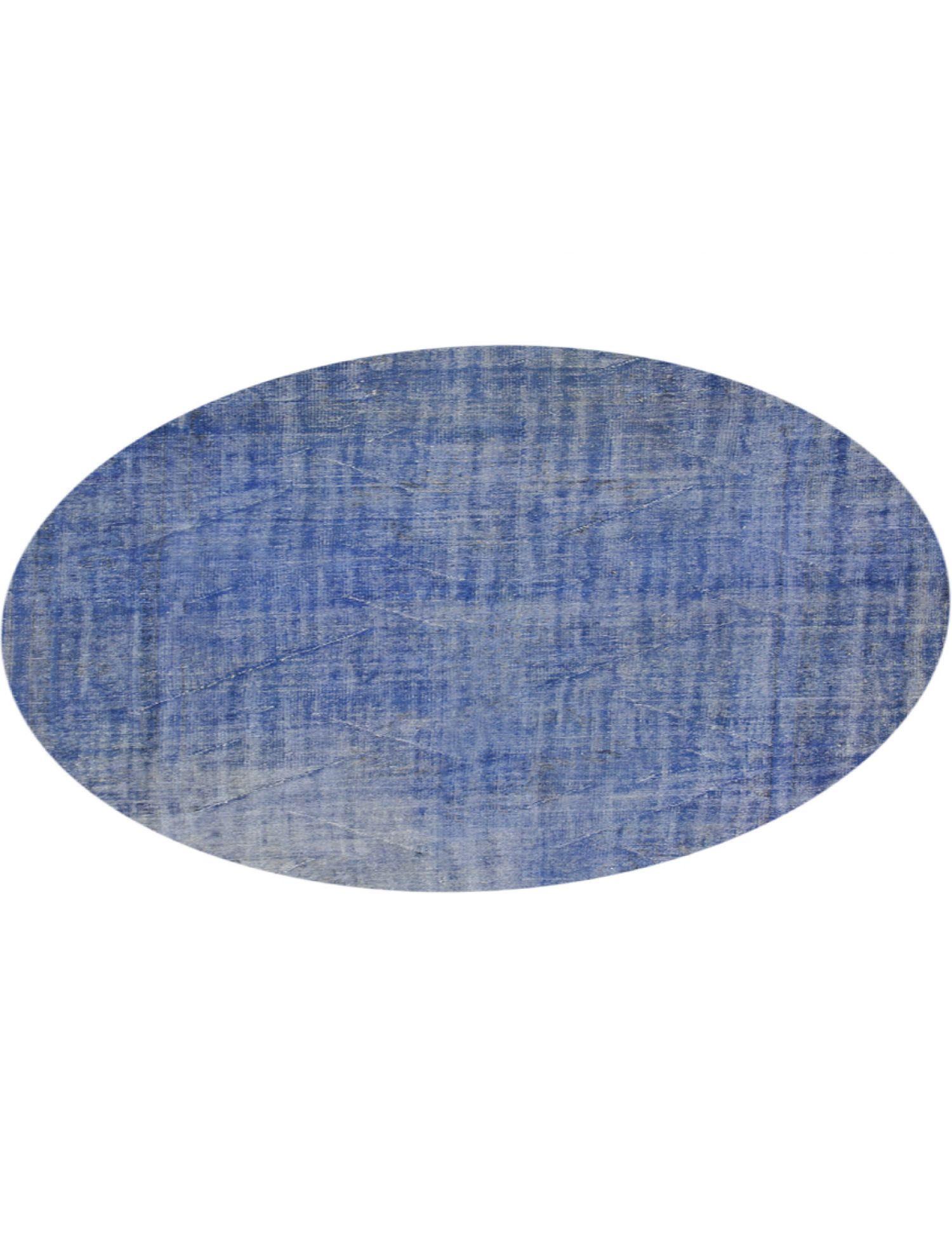 Tappeto Vintage  blu <br/>222 x 222 cm