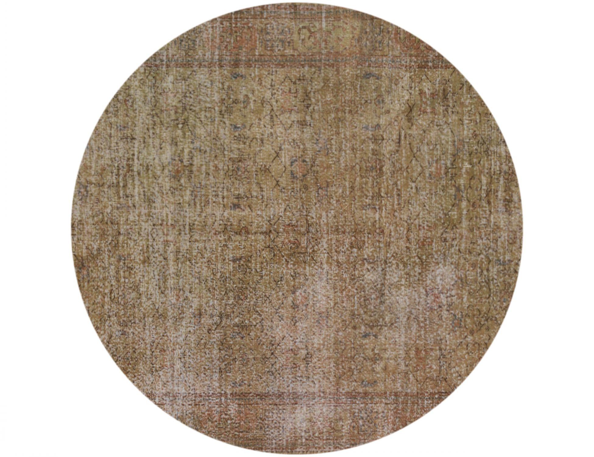 Tappeto Vintage  marrone <br/>225 x 225 cm