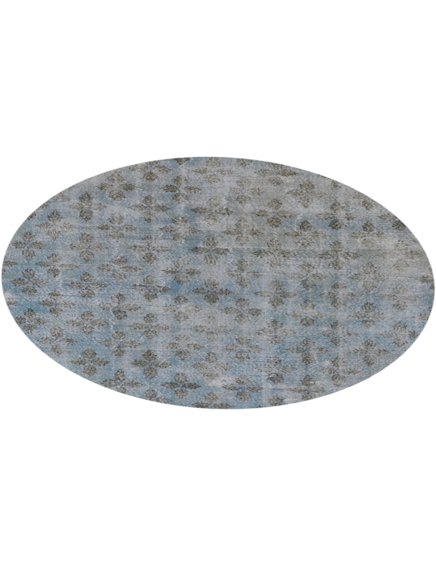 Tappeto Vintage  blu <br/>215 x 215 cm