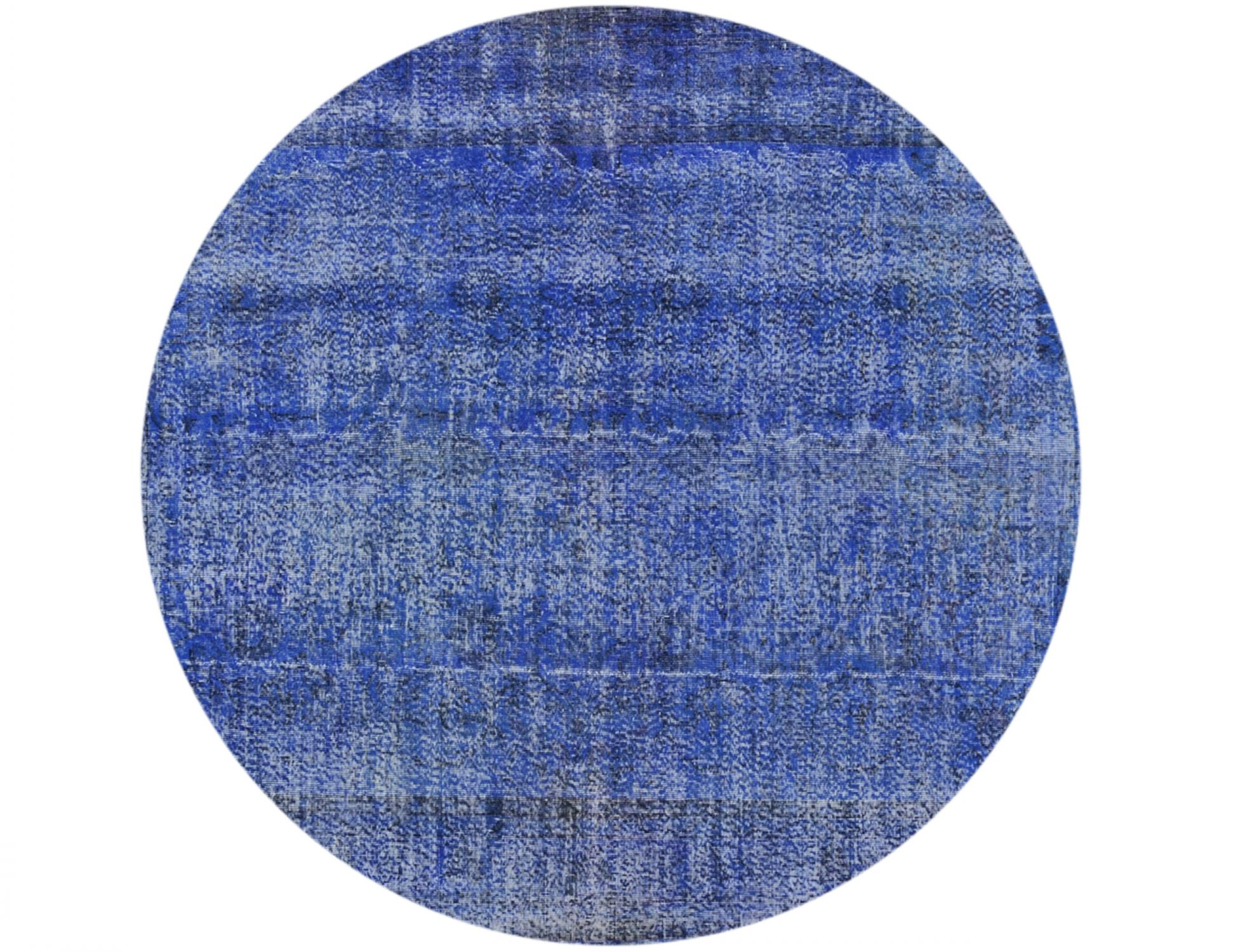 Tappeto Vintage  blu <br/>221 x 221 cm