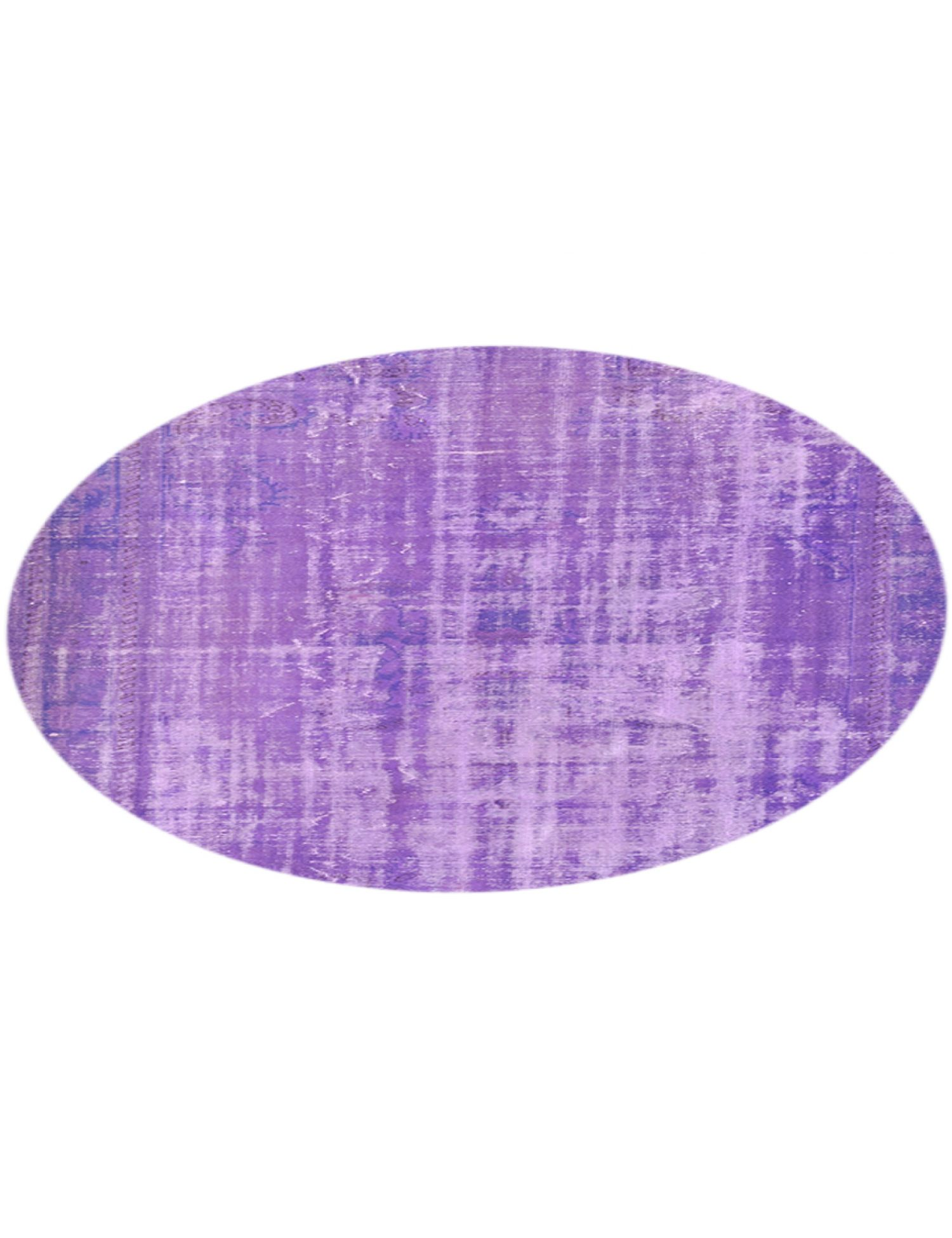 Vintage Teppich rund  lila <br/>217 x 217 cm