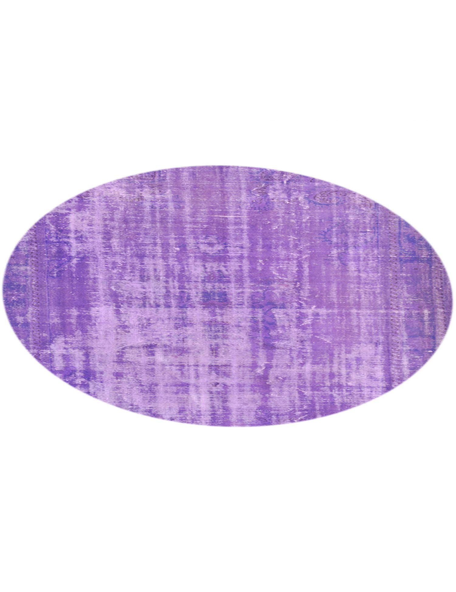 Tappeto Vintage  viola <br/>217 x 217 cm