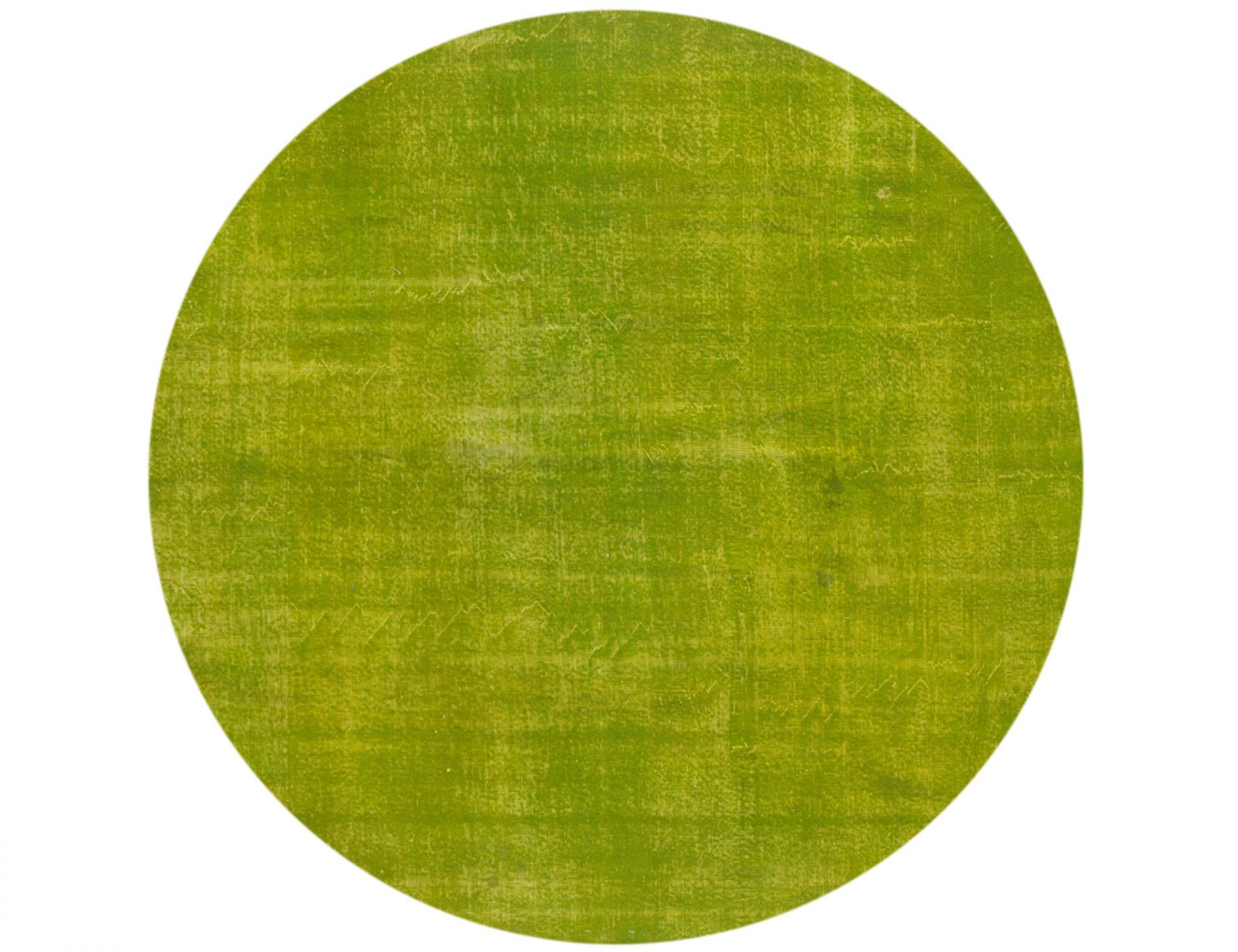 Tappeto Vintage  verde <br/>225 x 225 cm