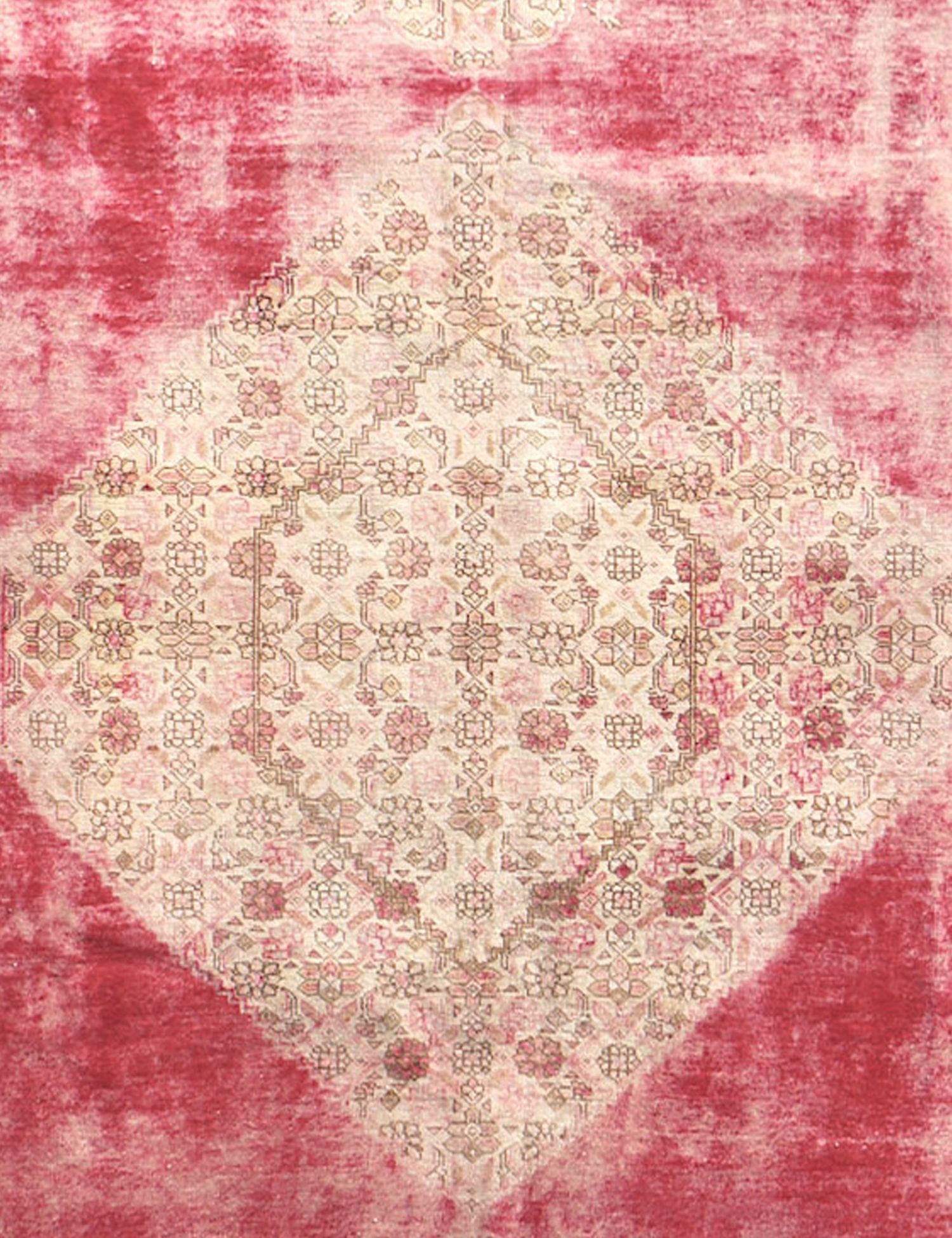 Retro Teppich rund  beige <br/>230 x 230 cm