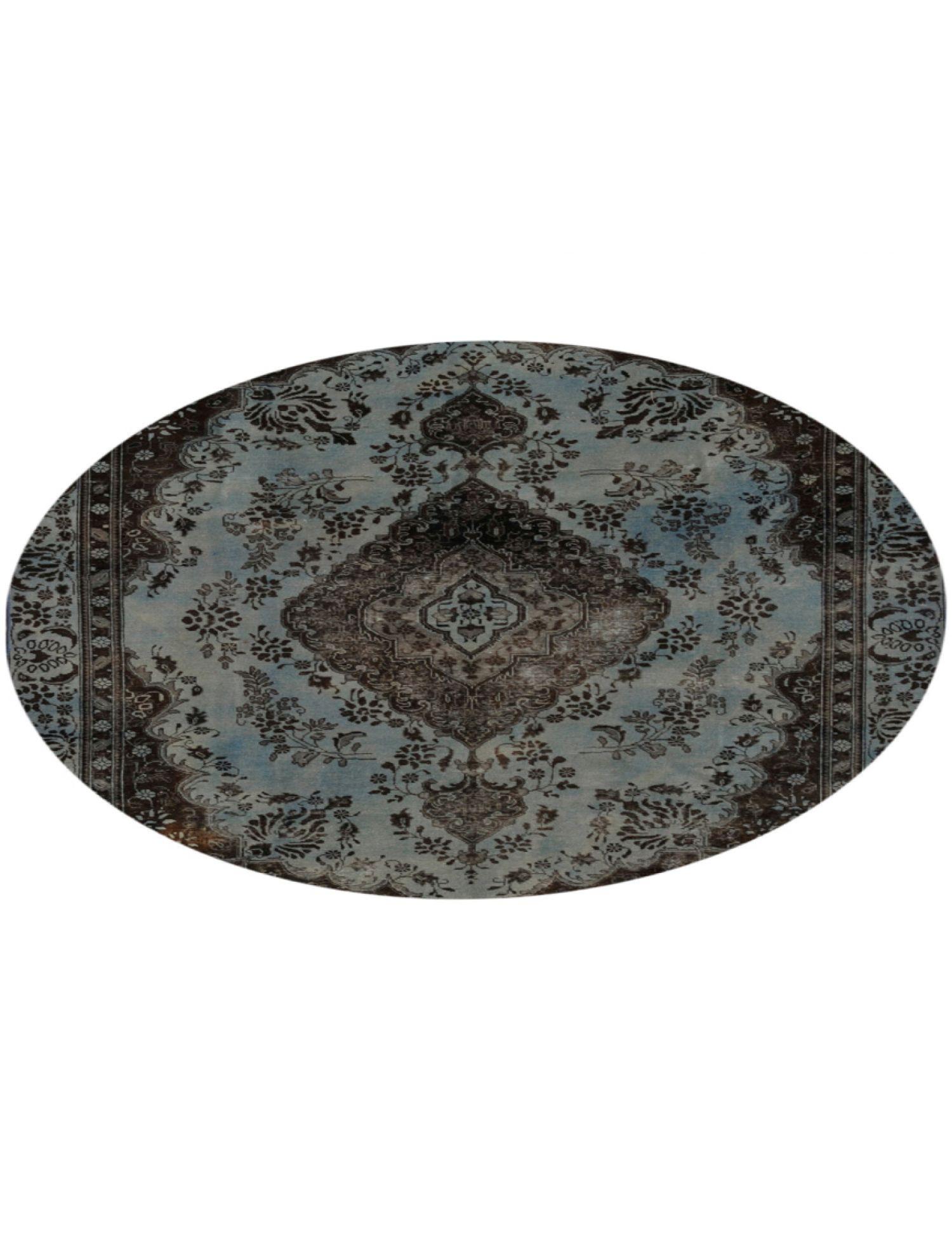 Tappeto Vintage  blu <br/>225 x 225 cm