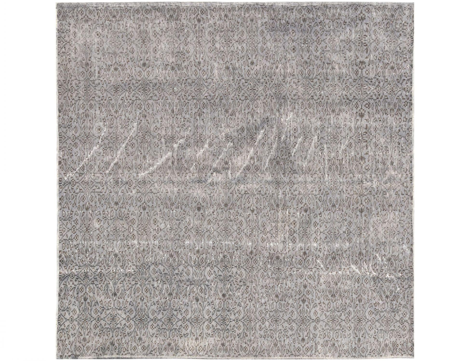 Tappeto Vintage  grigo <br/>194 x 194 cm