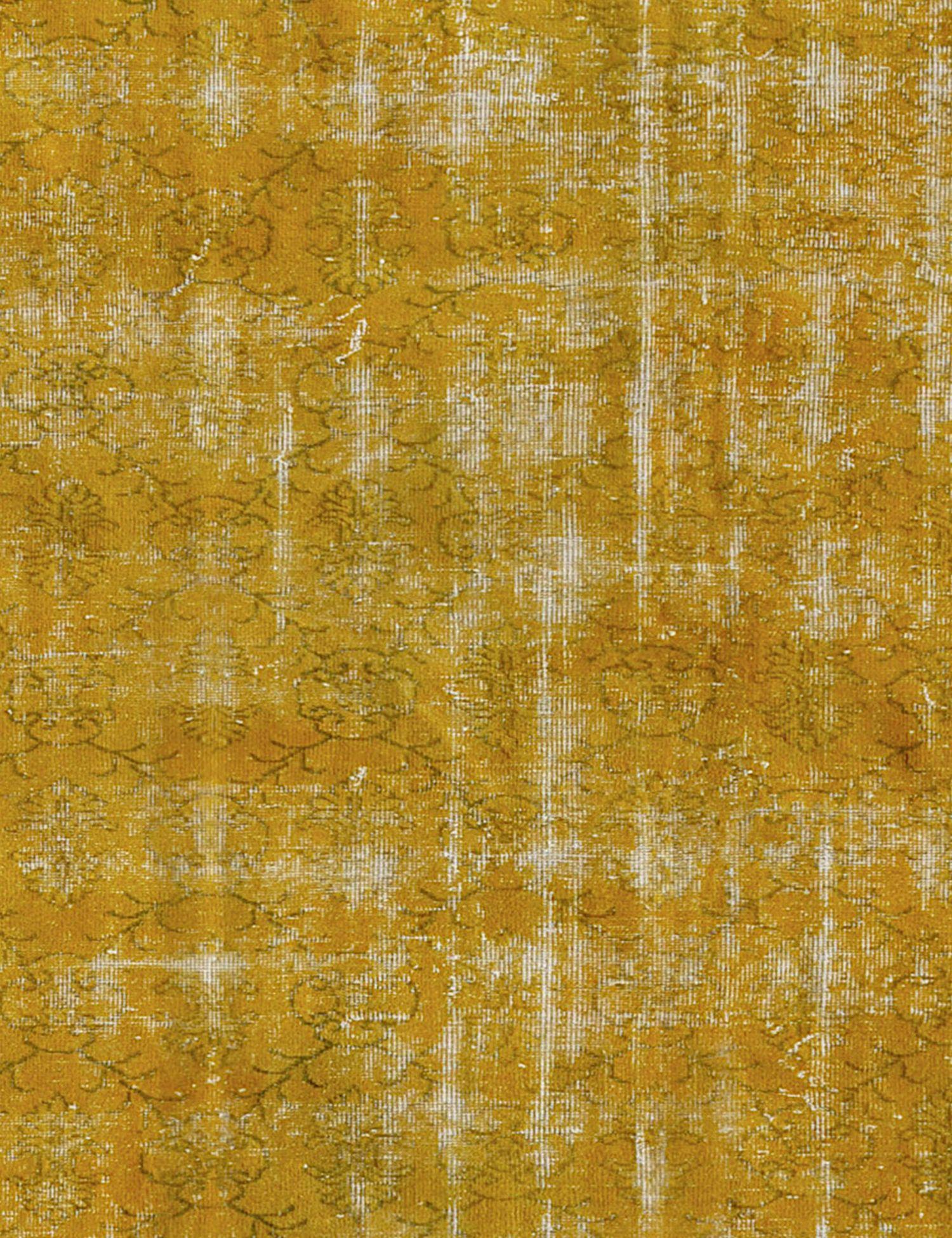 Tappeto Vintage  giallo <br/>194 x 194 cm