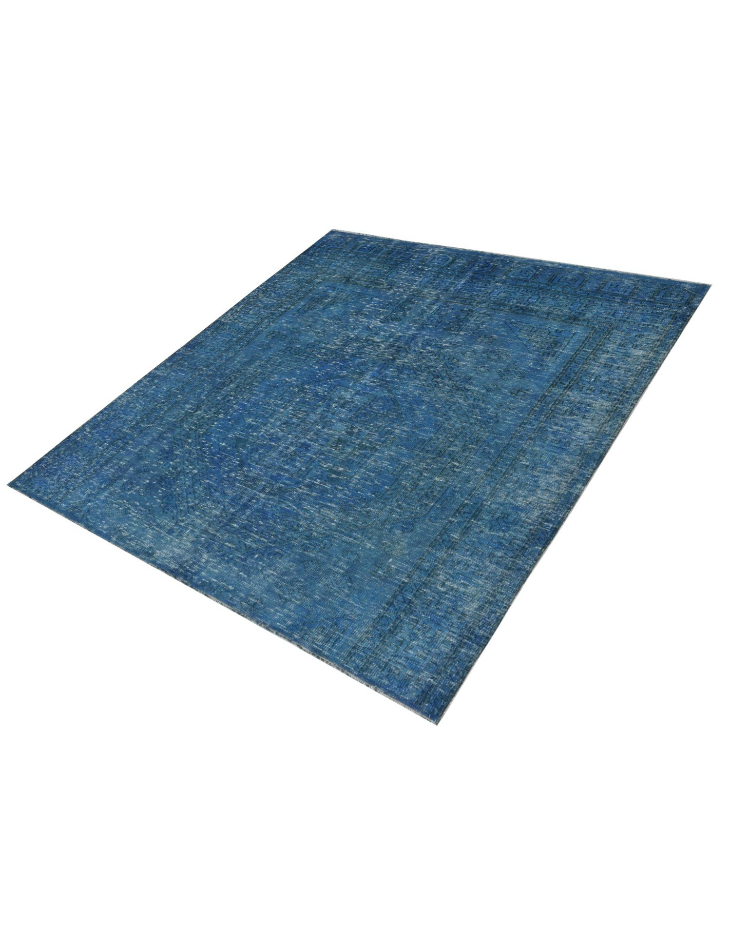 Tappeto Vintage  blu <br/>194 x 194 cm