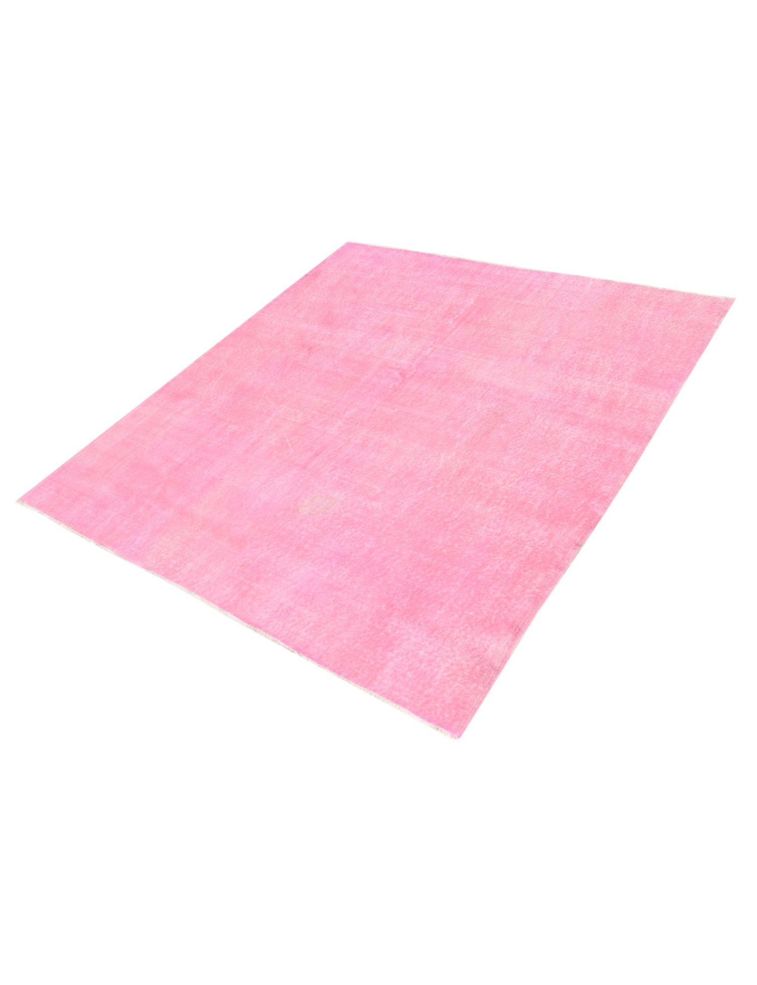 Vintage Teppich  rosa <br/>206 x 206 cm