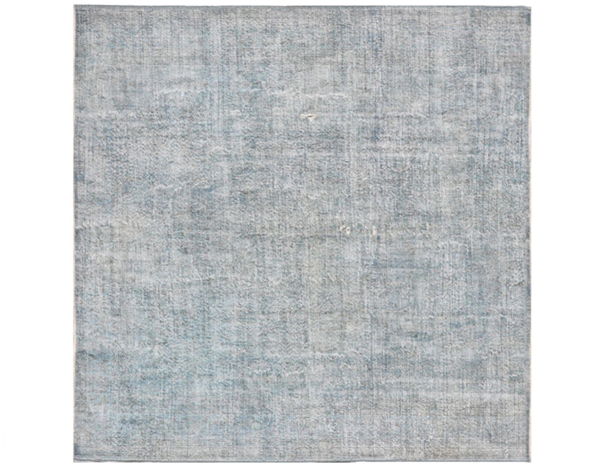 Tappeto Vintage  blu <br/>276 x 276 cm