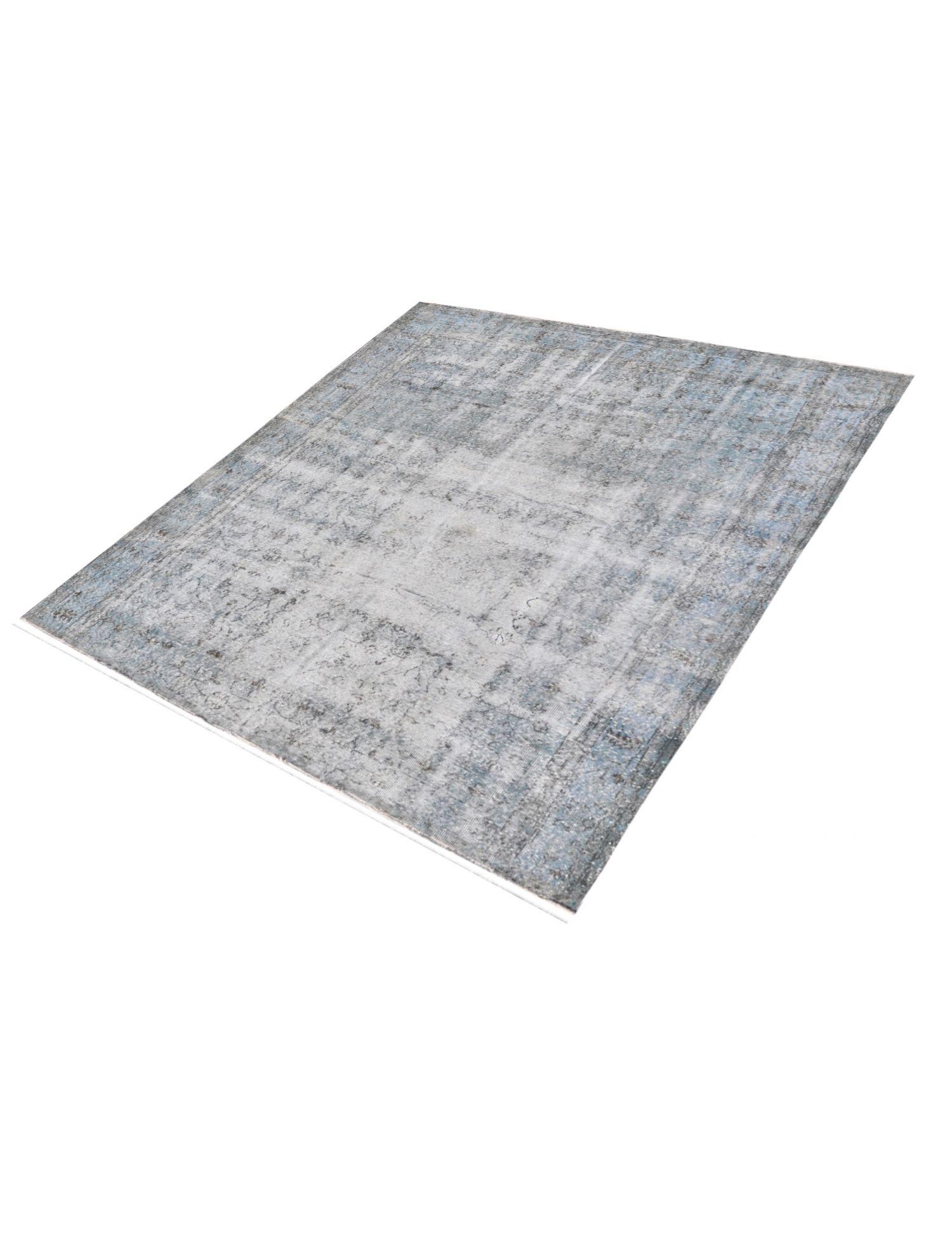 Vintage Teppich  blau <br/>208 x 208 cm