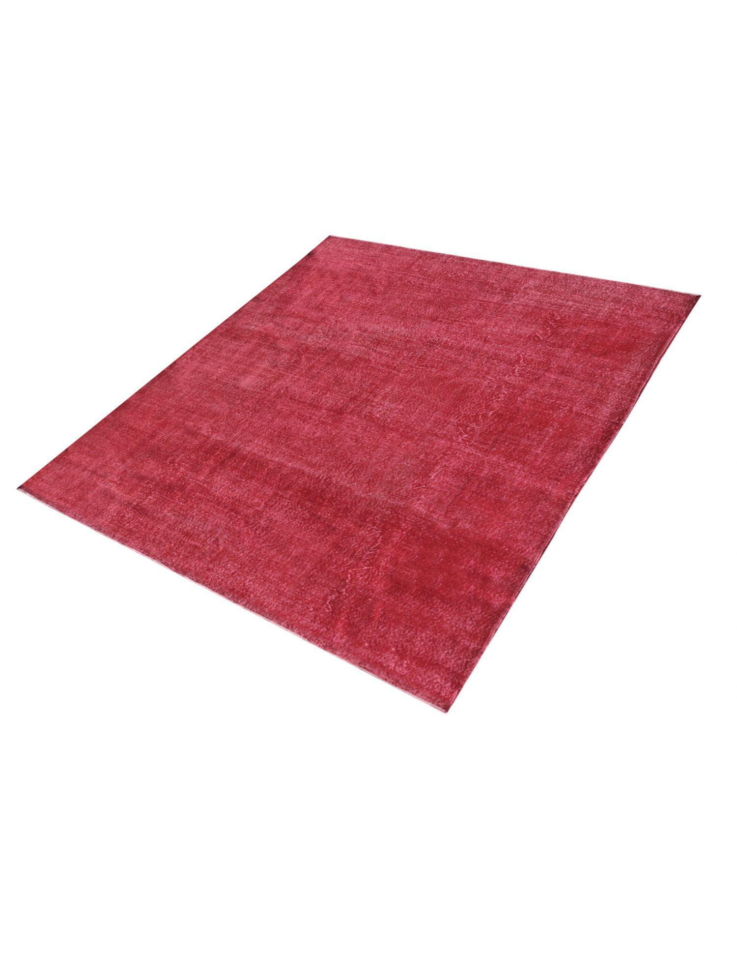Tappeto Vintage  rosso <br/>248 x 248 cm