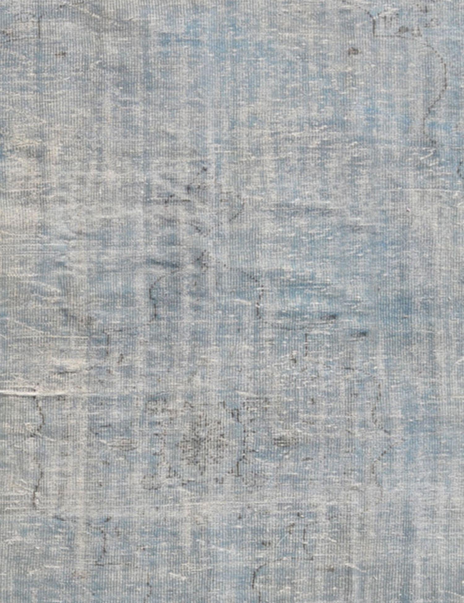 Vintage Teppich rund  blau <br/>246 x 246 cm