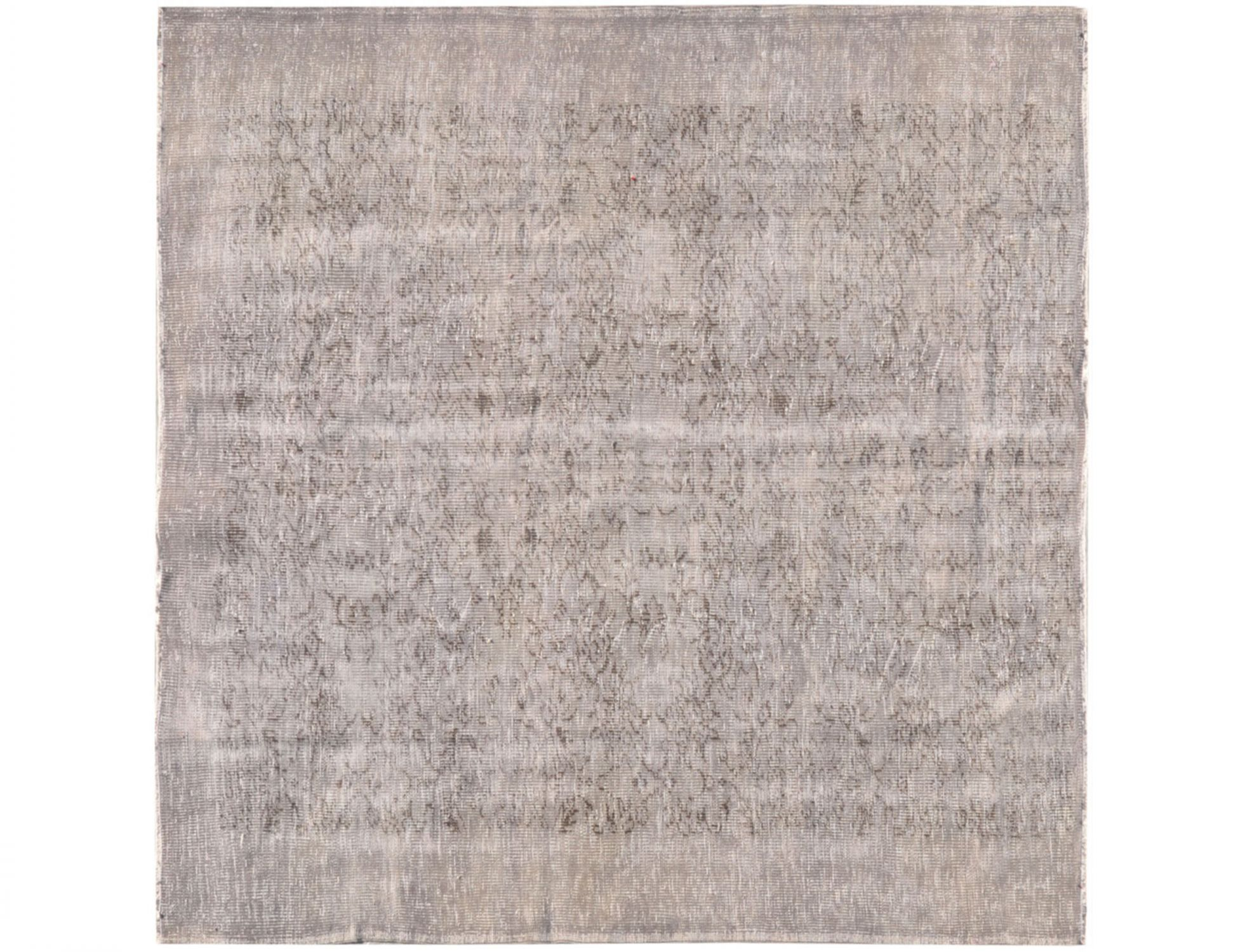 Tappeto Vintage  grigo <br/>185 x 185 cm
