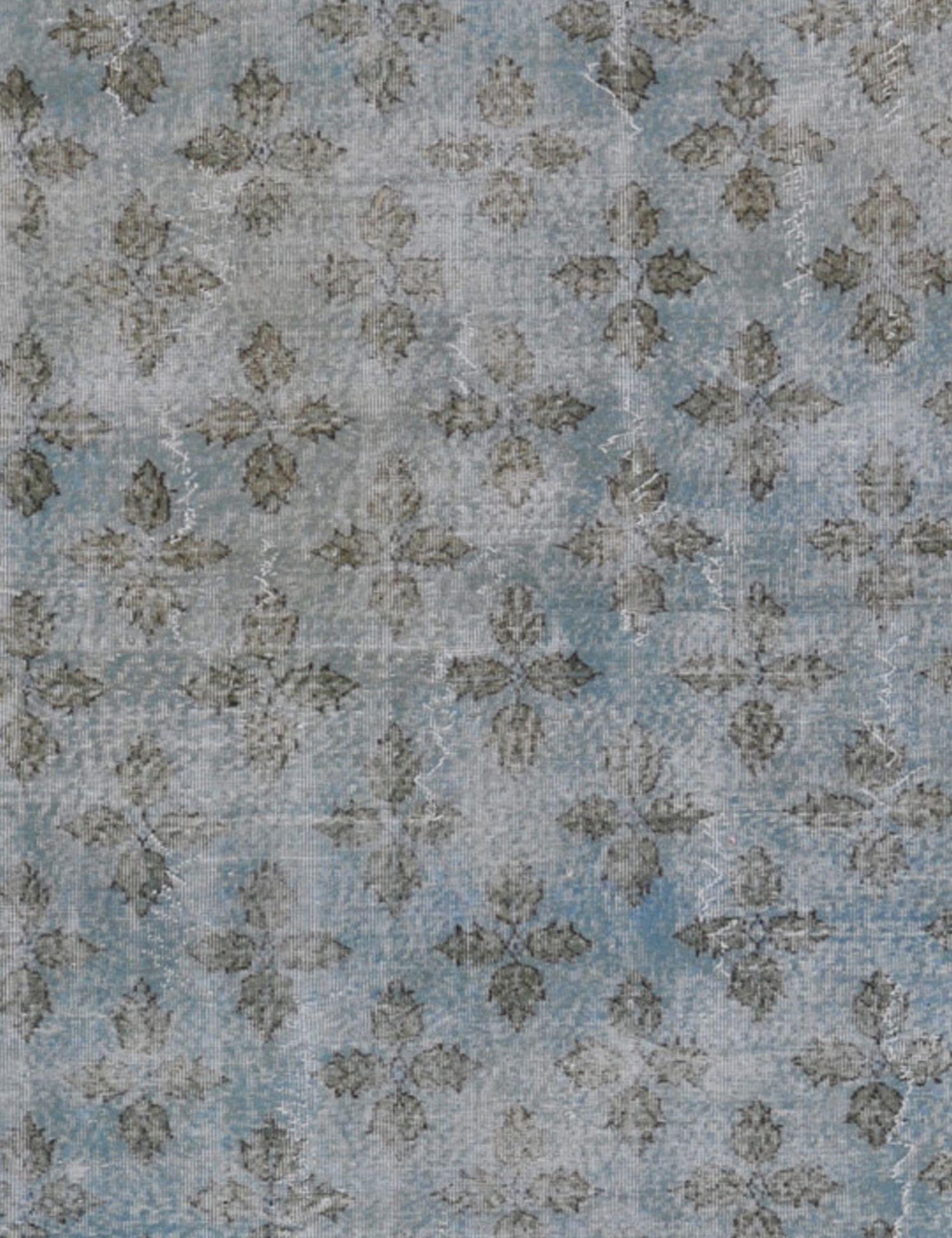 Vintage Teppich rund  blau <br/>215 x 215 cm