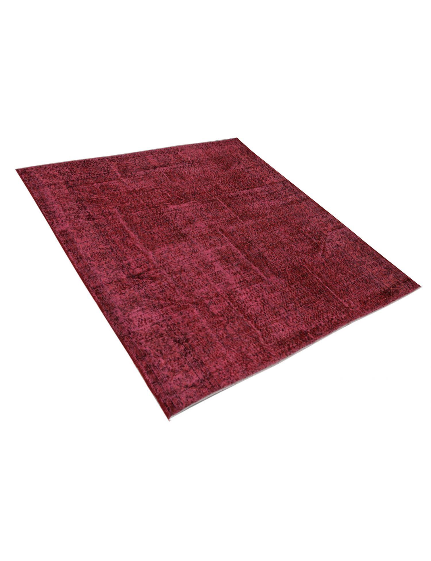 Vintage Teppich  rot <br/>218 x 218 cm