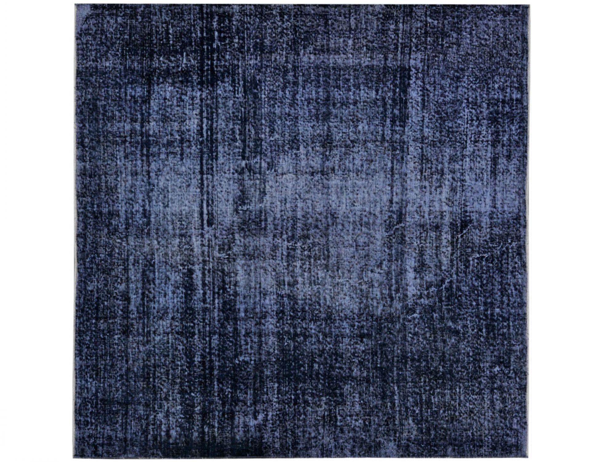 Tappeto Vintage  blu <br/>187 x 187 cm