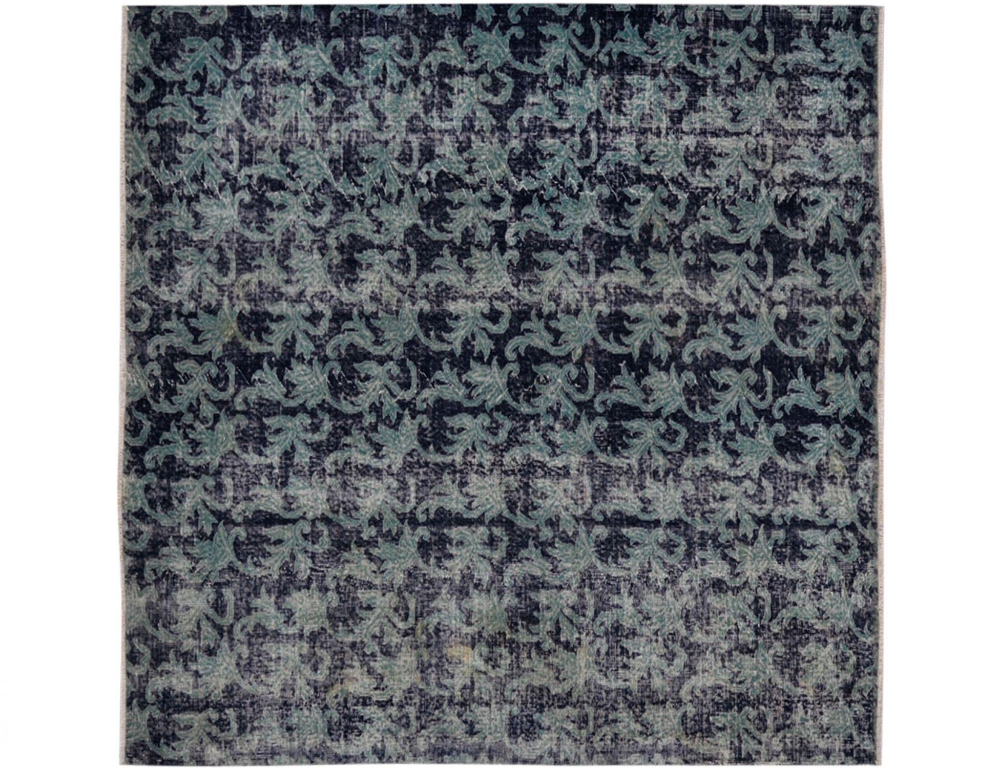 Tappeto Vintage  blu <br/>210 x 210 cm