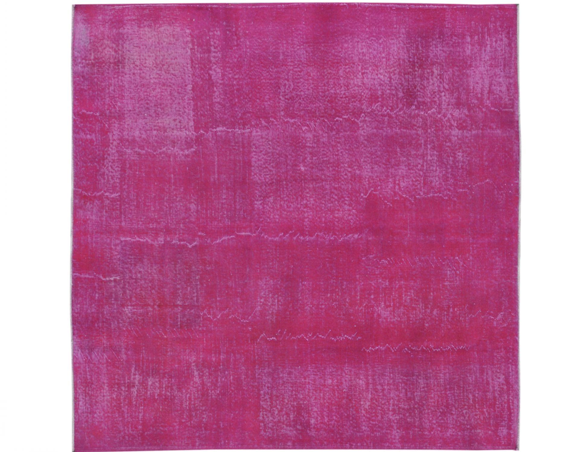 Vintage Teppich  lila <br/>205 x 205 cm