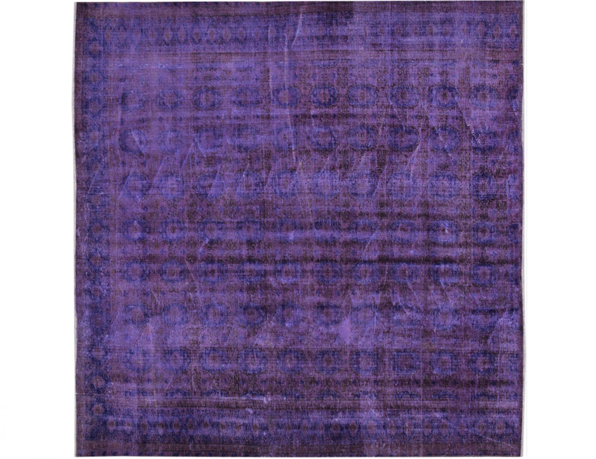 Vintage Teppich  lila <br/>208 x 208 cm