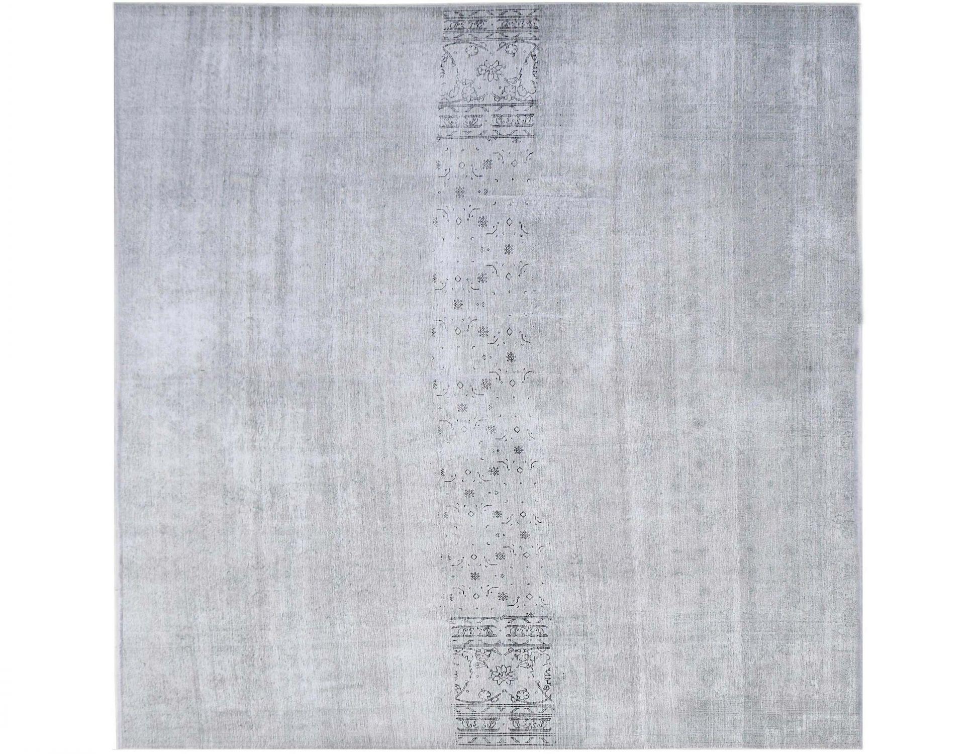 Vintage Teppich  grau <br/>292 x 292 cm