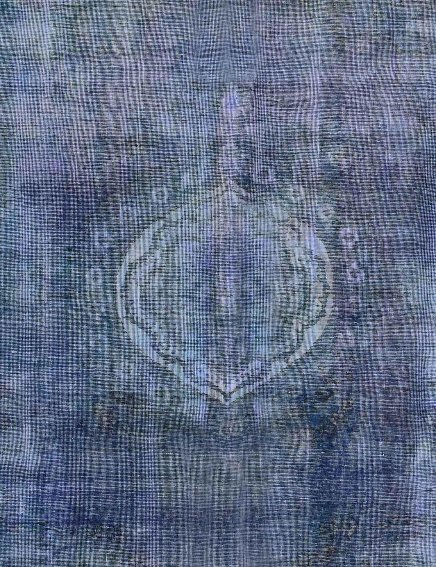 Vintage Teppich  blau <br/>263 x 263 cm