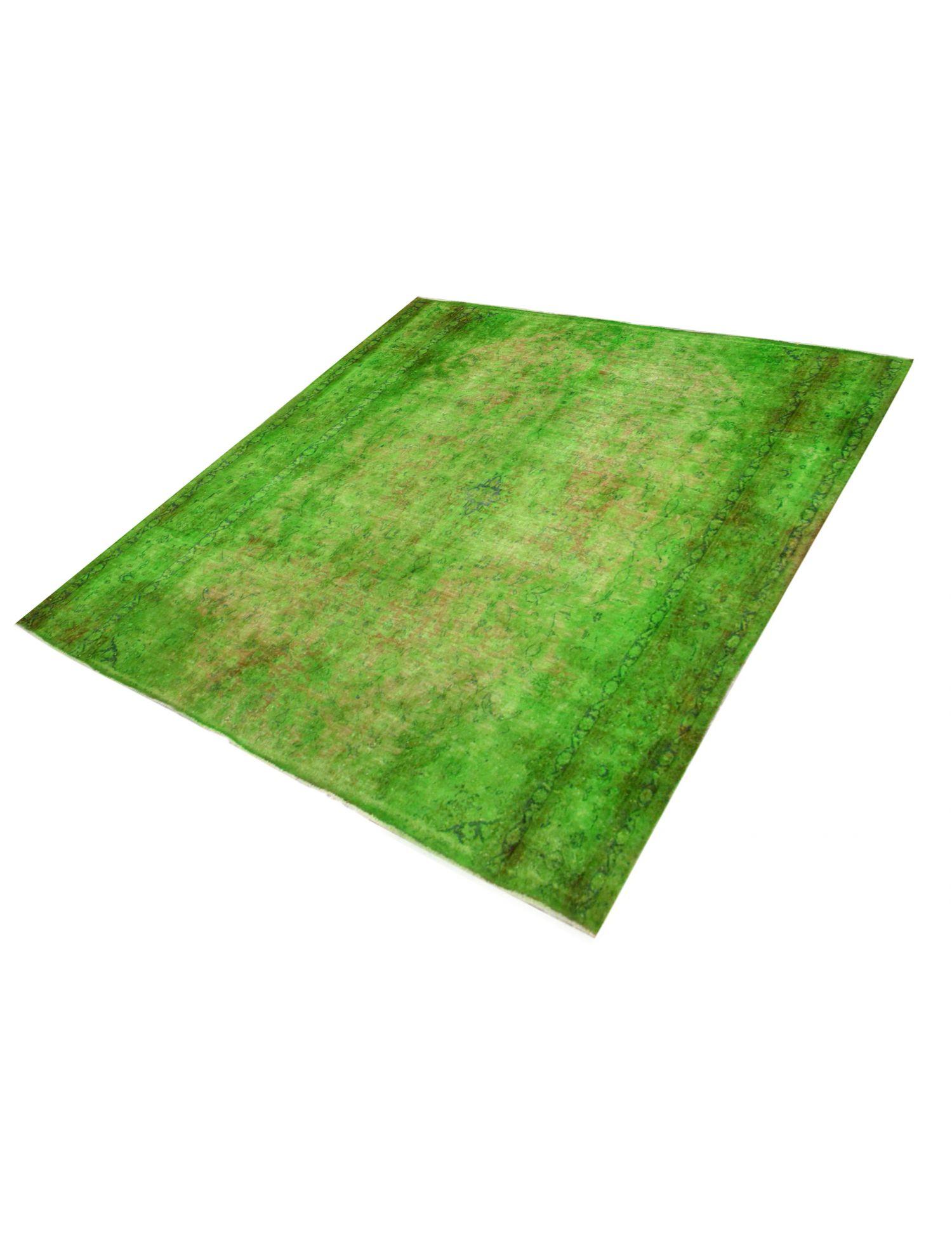 Vintage Teppich  grün <br/>290 x 290 cm