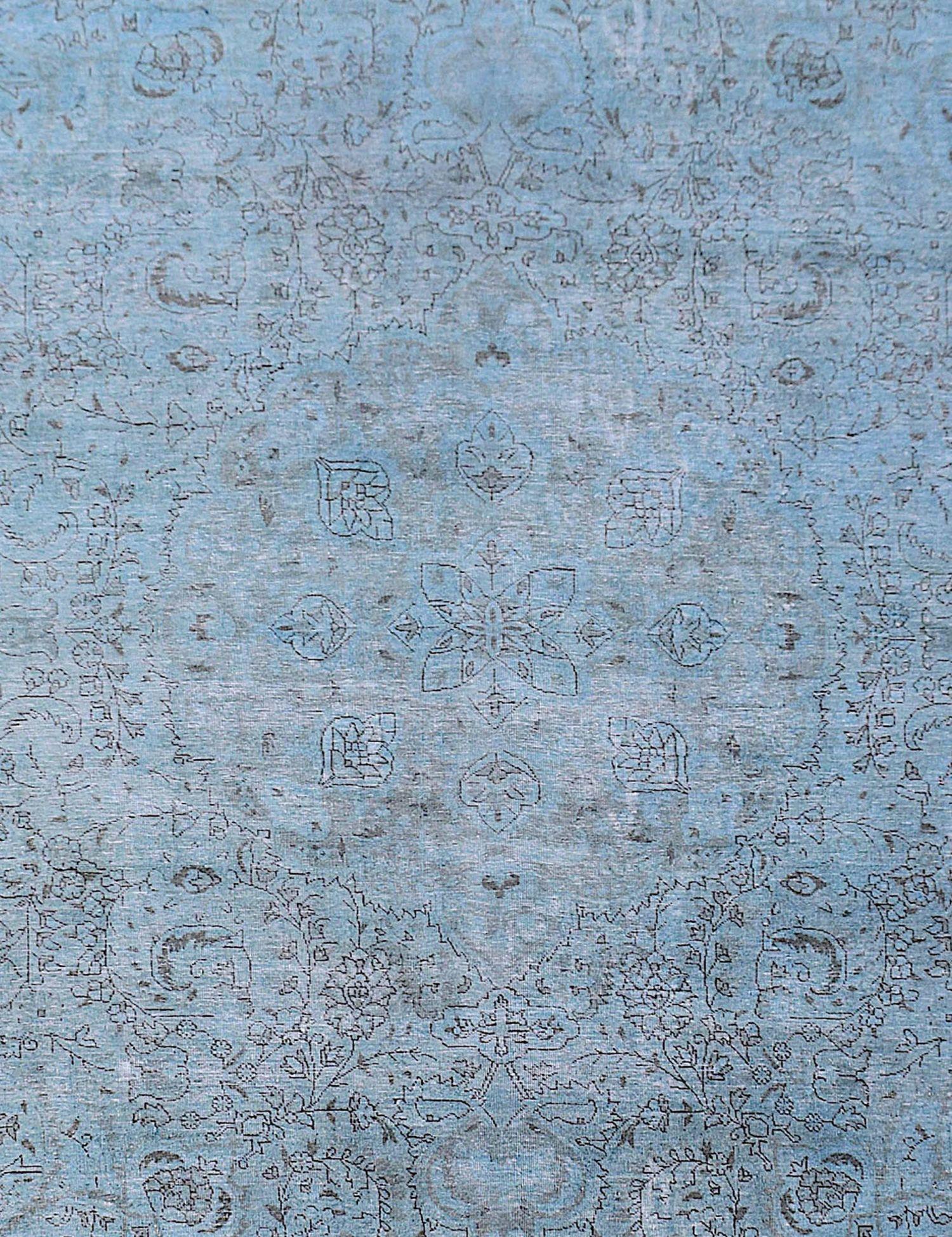 Vintage Teppich  blau <br/>297 x 297 cm