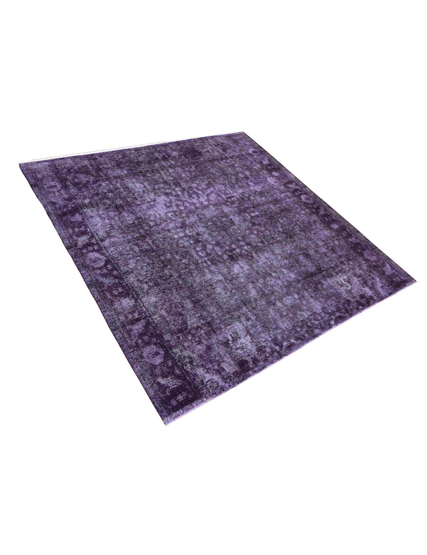 Vintage Teppich  lila <br/>293 x 293 cm