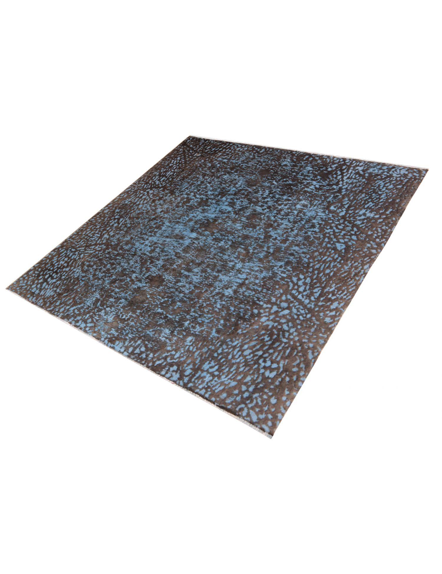 Vintage Teppich  blau <br/>276 x 276 cm
