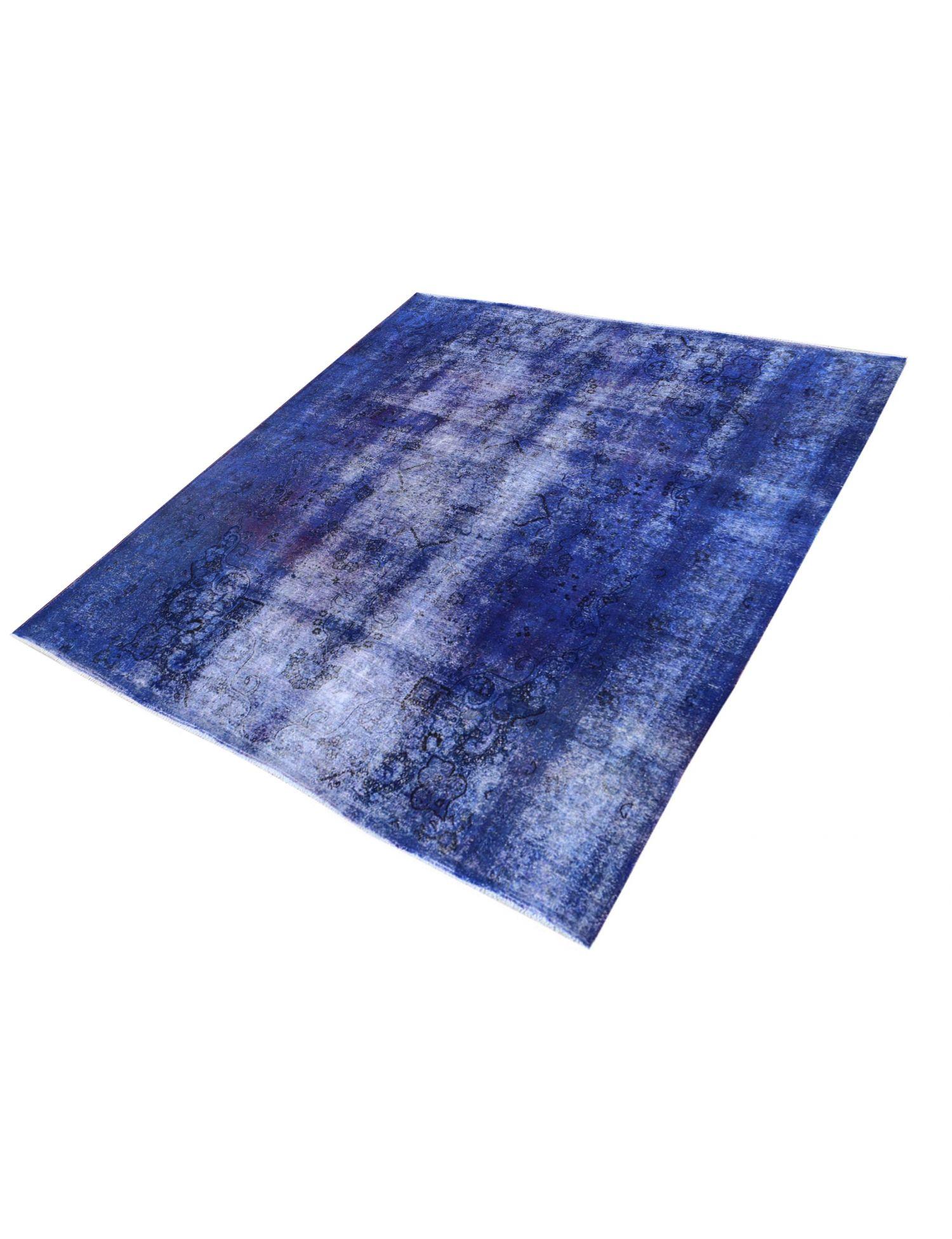 Vintage Teppich  blau <br/>286 x 286 cm