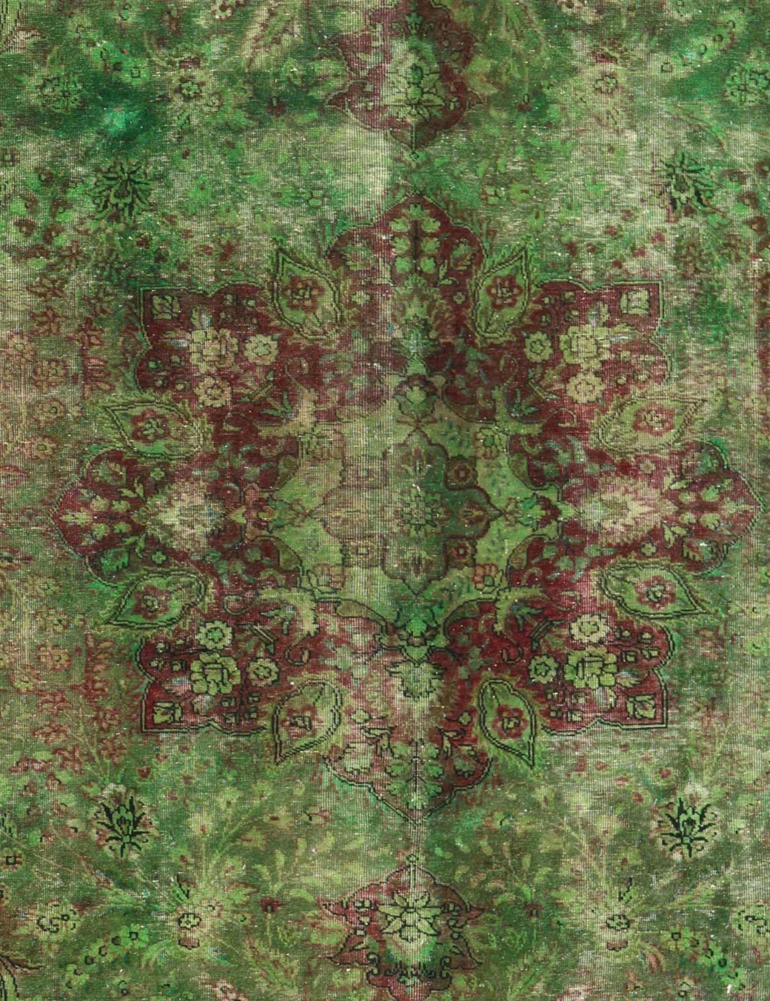 Vintage Teppich  grün <br/>225 x 225 cm