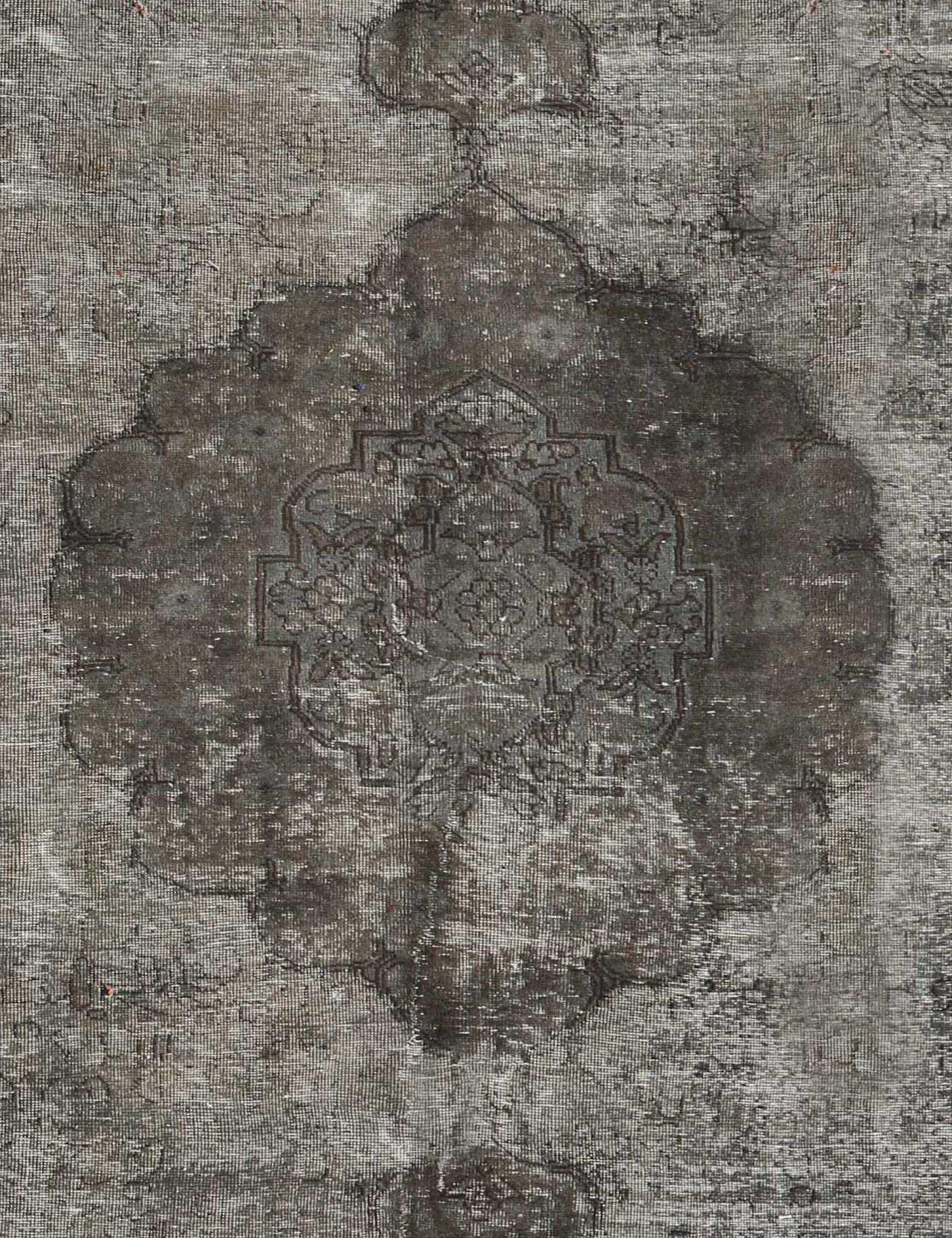 Vintage Teppich  schwarz <br/>210 x 210 cm